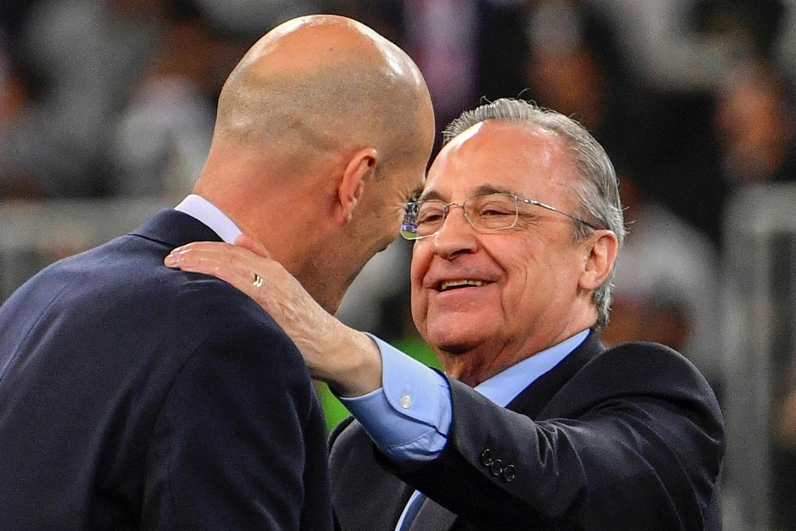 Florentino Pérez, forseti Real Madríd.