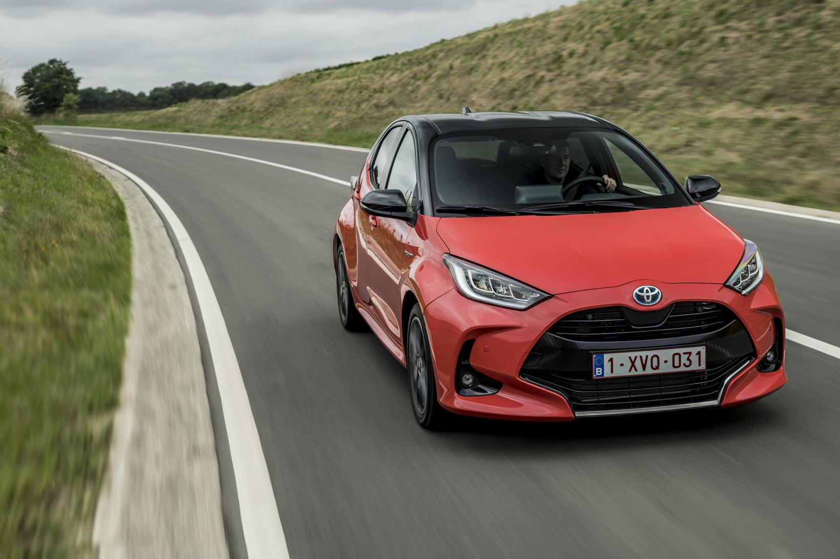 Toyota Yaris er bíll ársins 2021 í Evrópu.