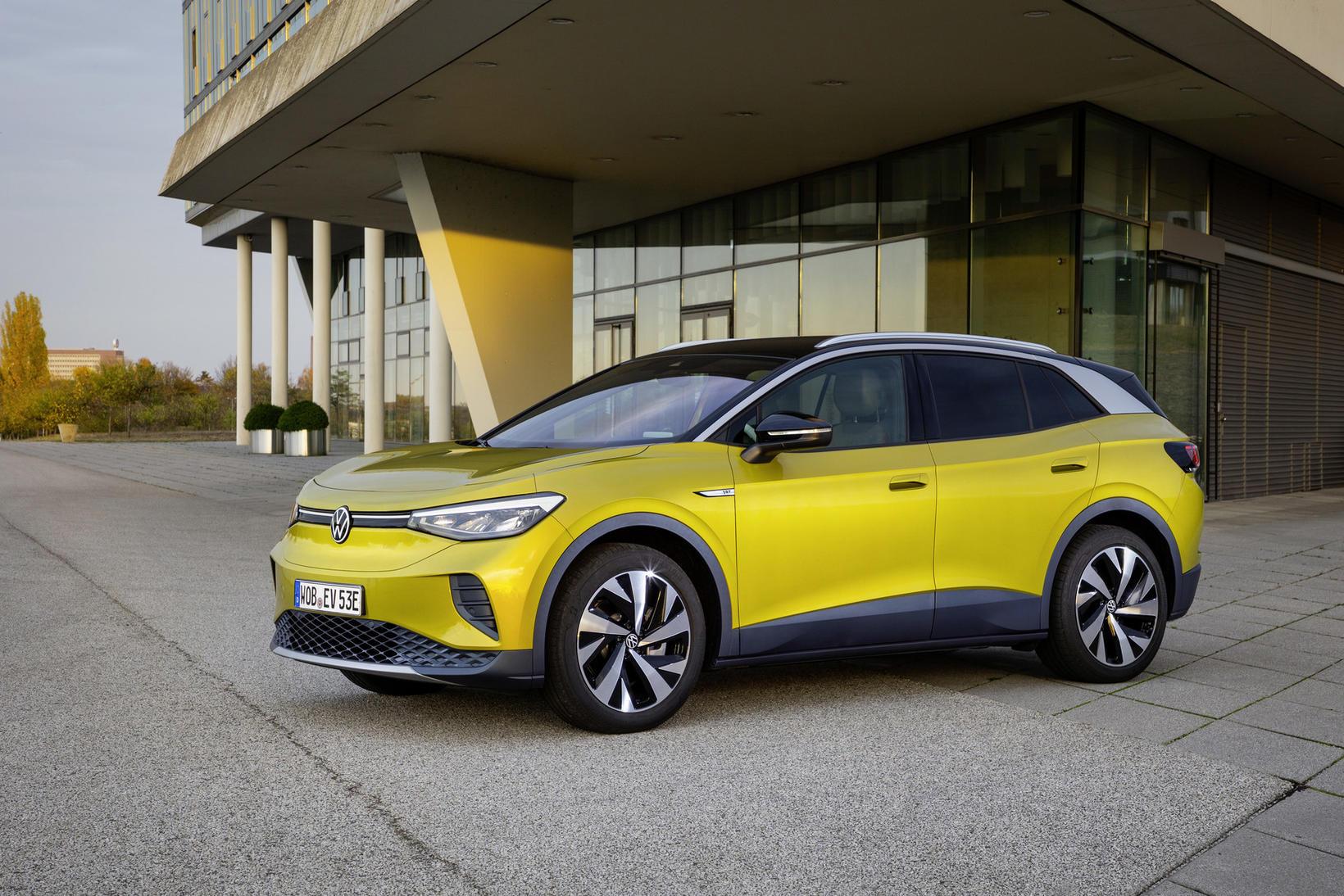 Volkswagen ID.4 hefur verið valinn Heimsbíll ársins 2021.