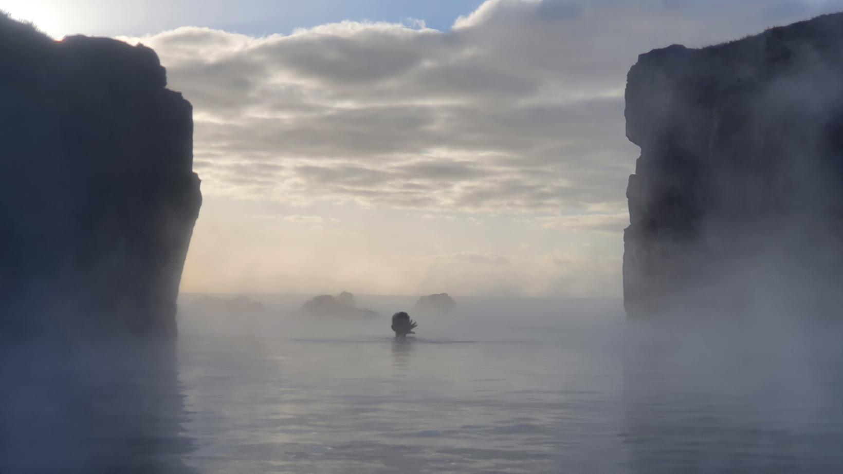 """Í lóninu verður svokallaður """"óendanleikakantur"""" sem ætlað er að gefi …"""