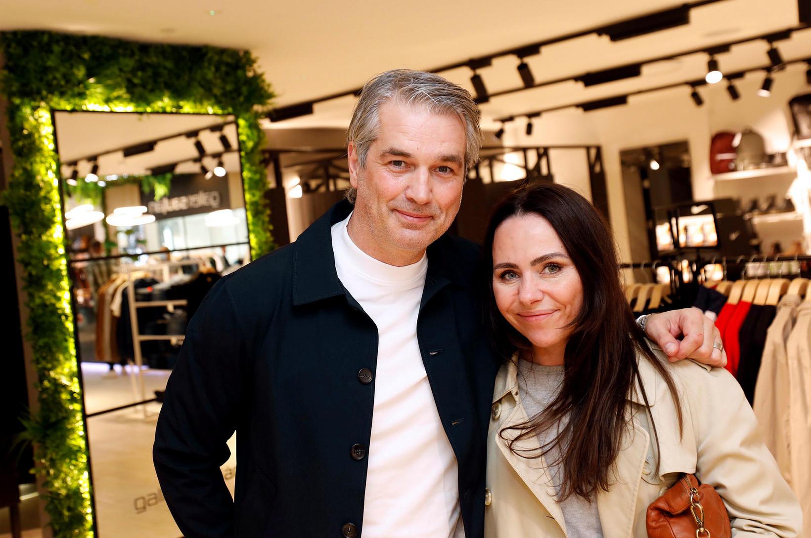 Björn Sveinbjörnsson og Andrea Magnúsdóttir.