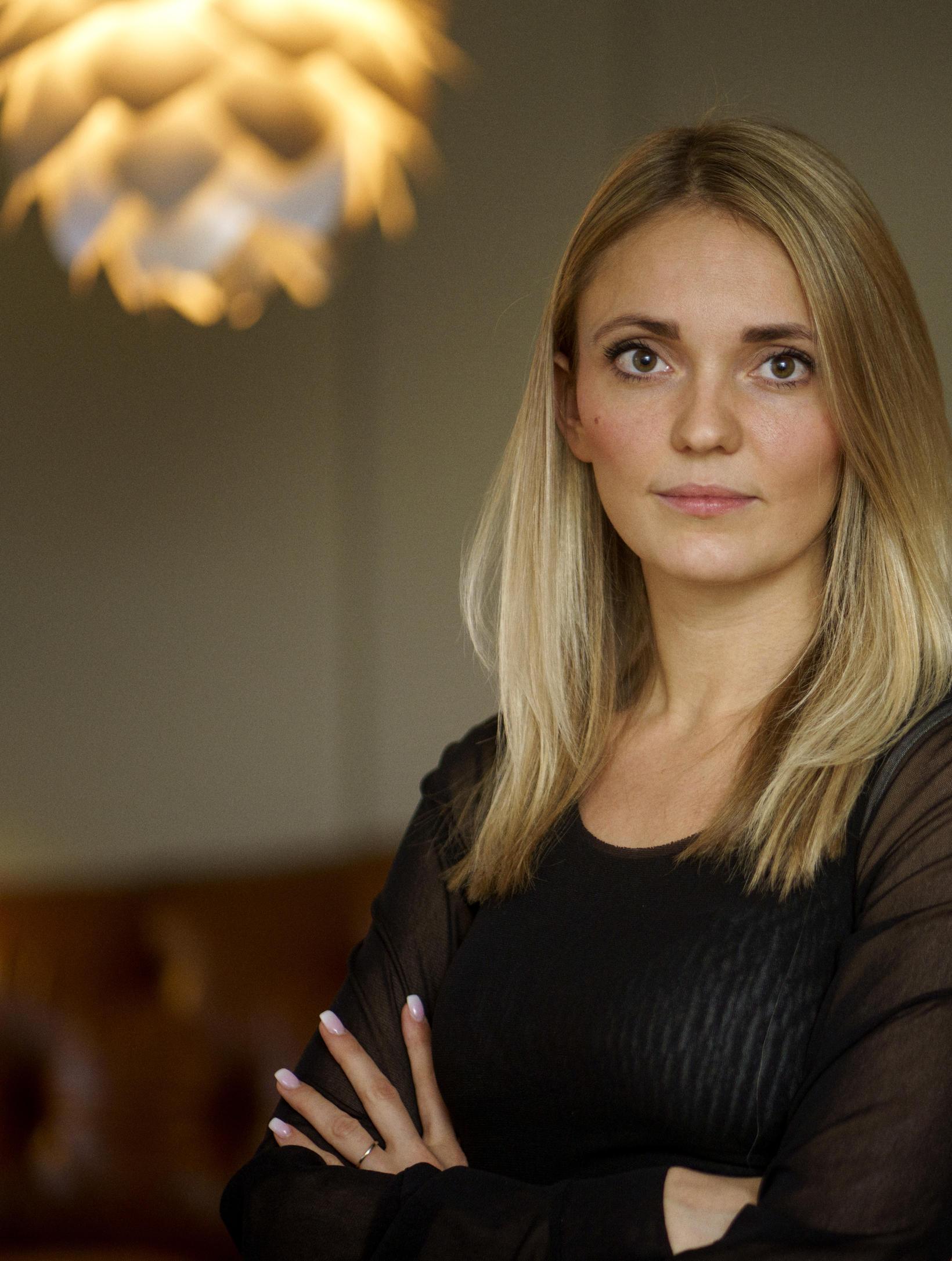 Arna Harðardóttir, viðskiptastjóri hjá Origo.