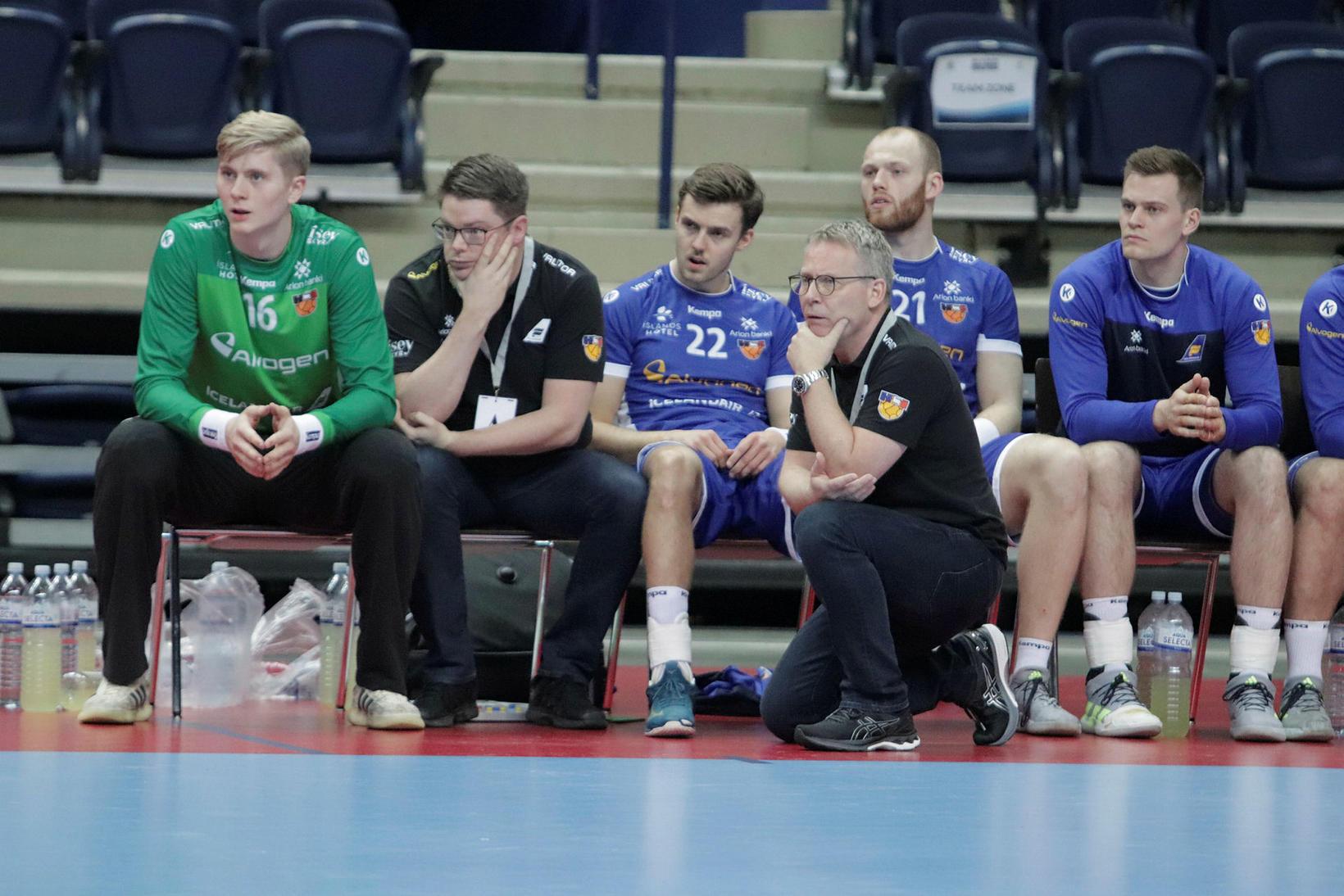 Viktor Gísli, Gunnar Magnússon, Sigvaldi Björn, Guðmundur Guðmundsson, Arnar Freyr …