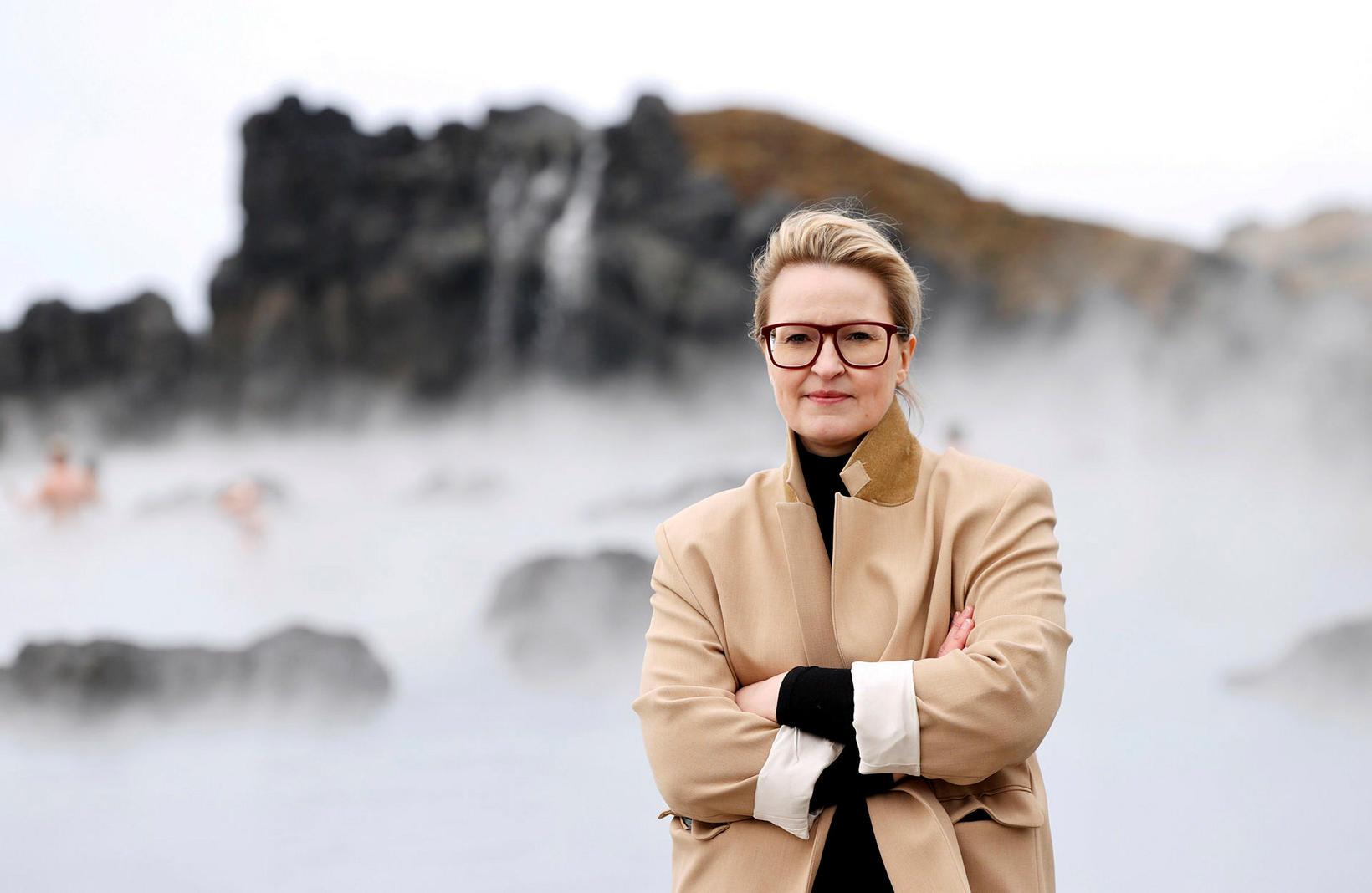 Dagný Pétursdóttir, framkvæmdastjóri Sky Lagoon.