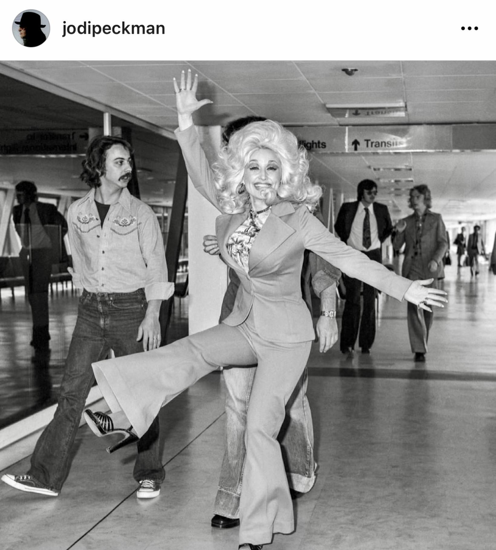 Dolly Parton lék á als oddi.