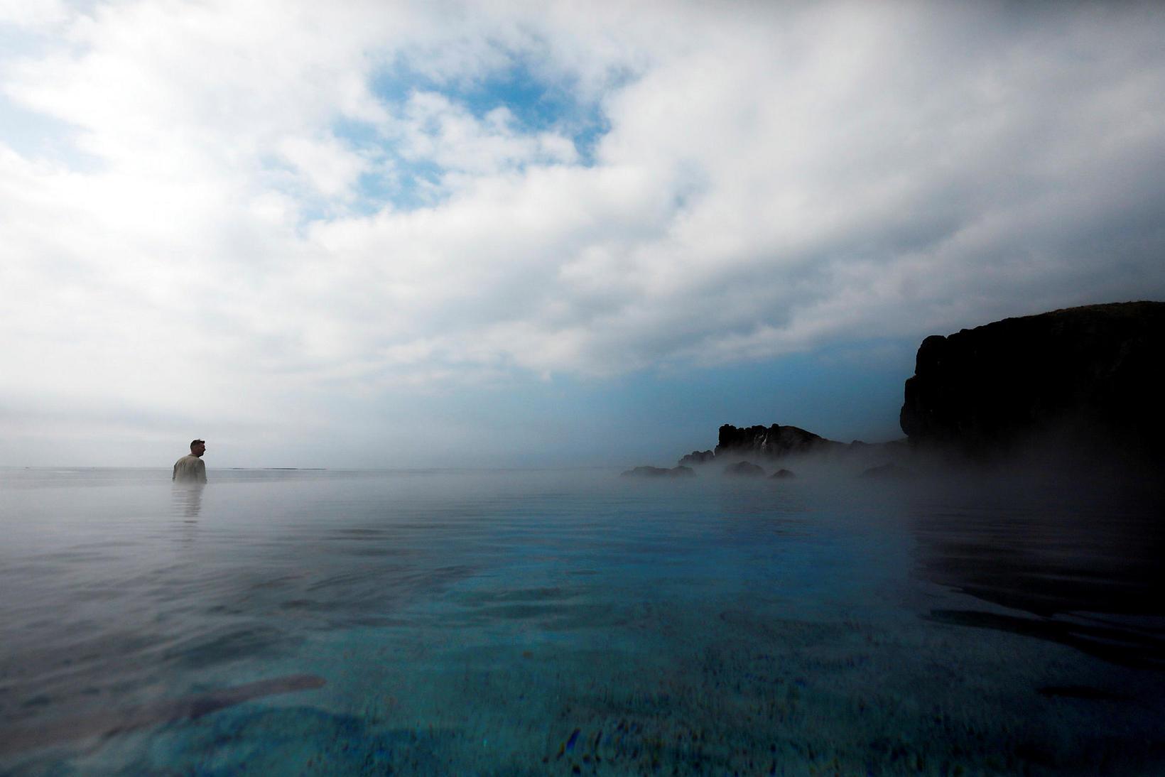 Sky Lagoon á Kársnesi.