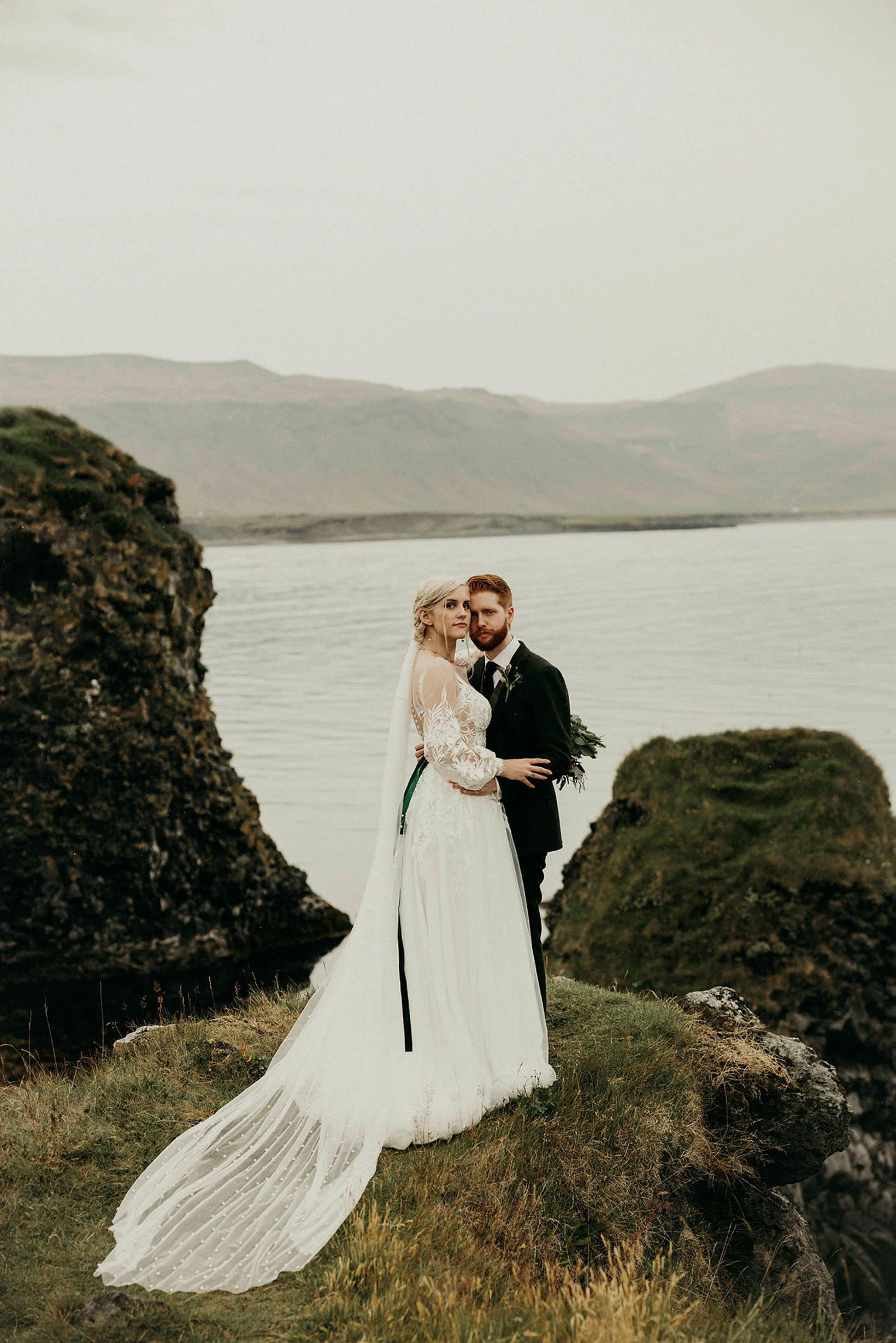 Kjólinn sem Alina gifti sig í er úr búð í …
