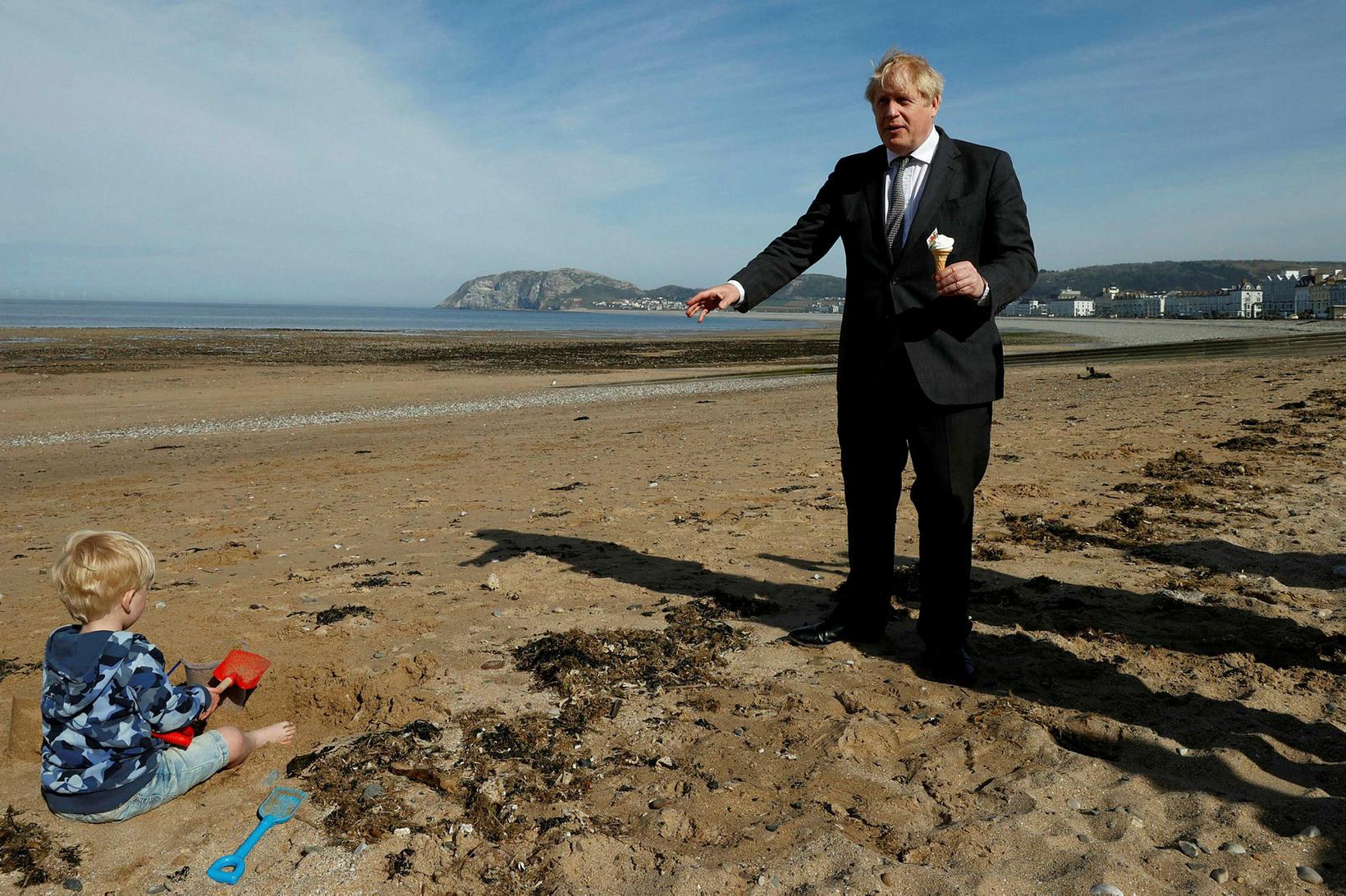Boris Johnson hefur farið mikinn í kosningabaráttunni.