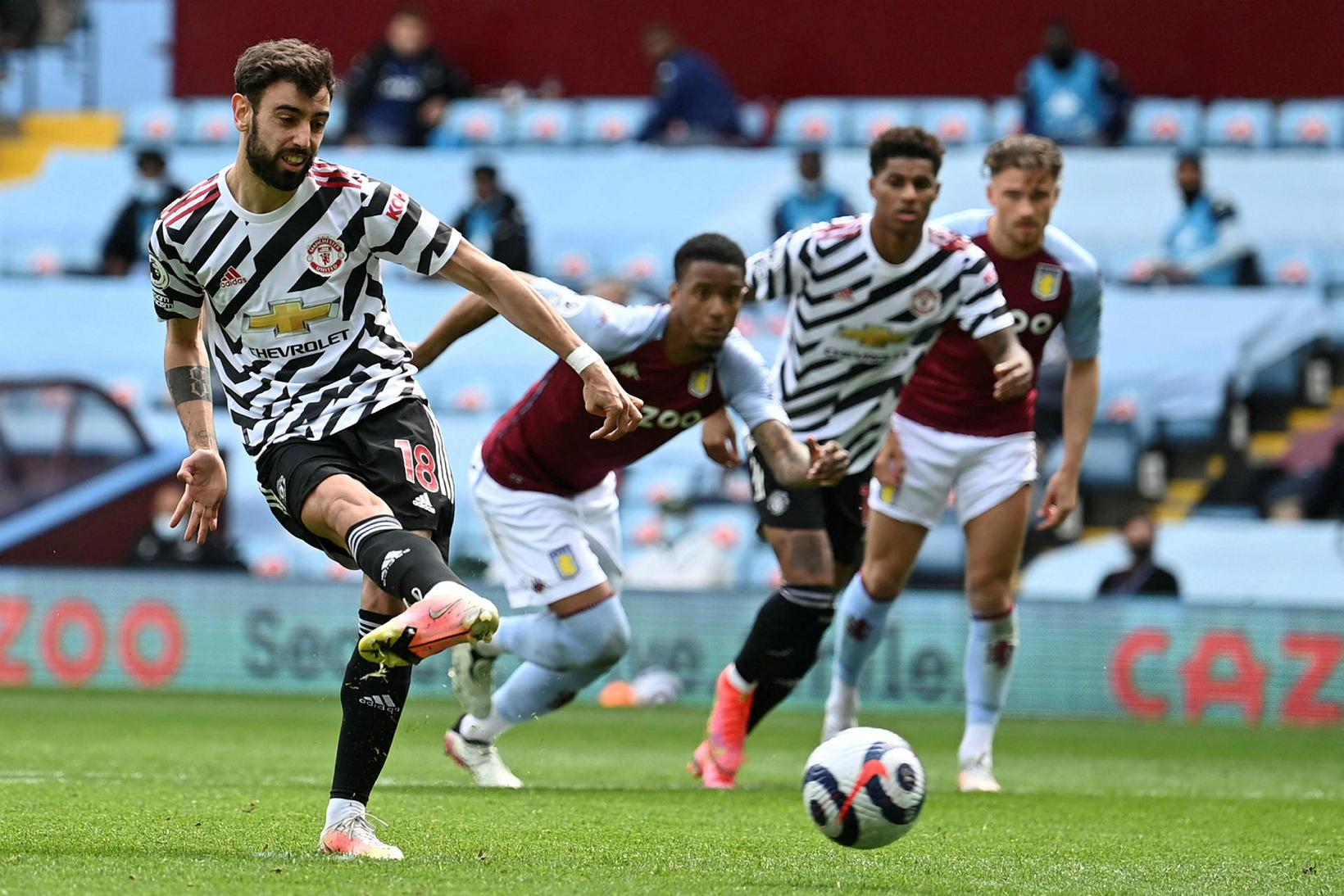 Bruno Fernandes jafnar metin fyrir Manchester United yfir með marki …