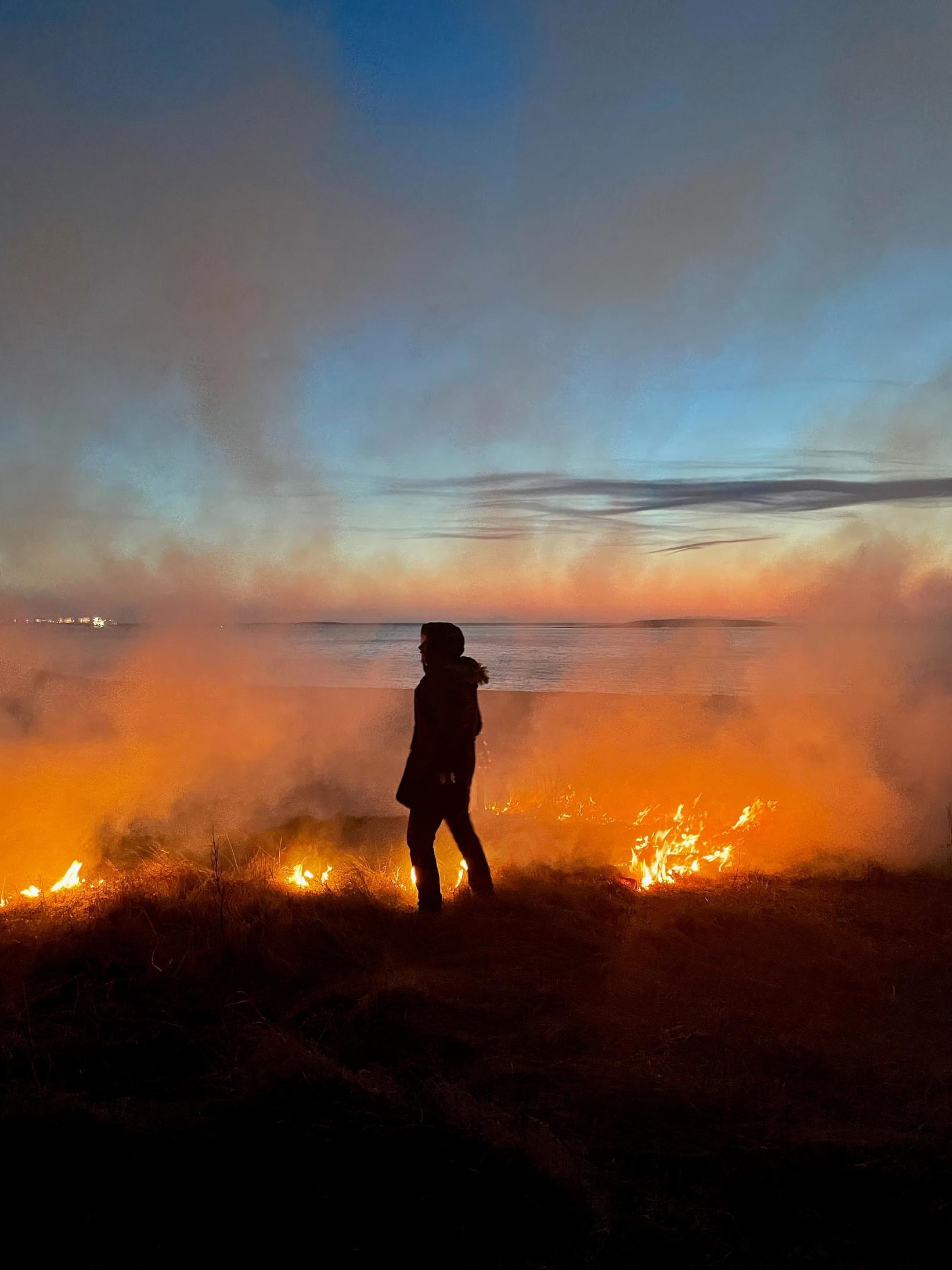 Þurrviðri hefur ríkt síðustu daga.