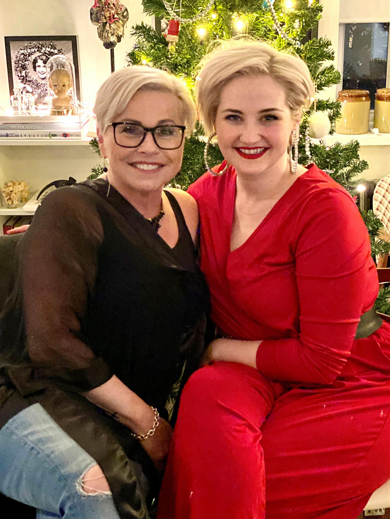 Helga Möll og Katla Hreiðarsdóttir.