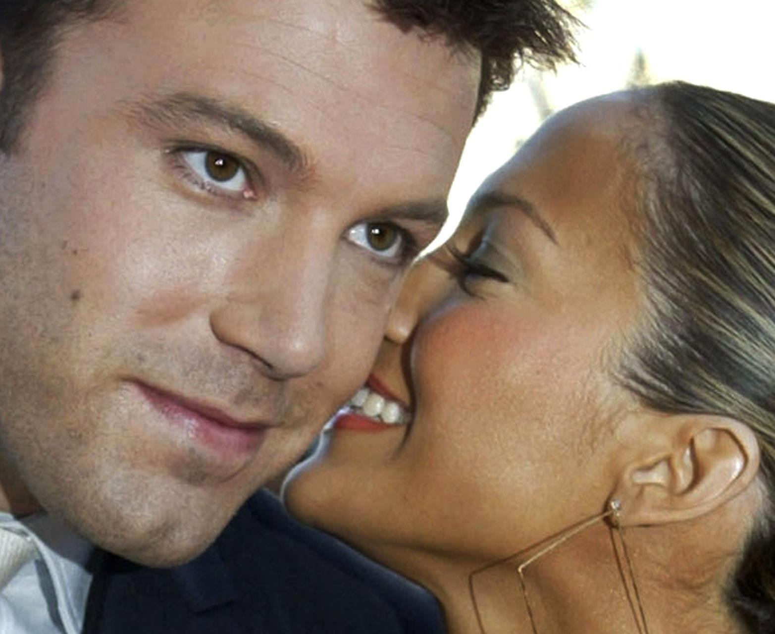 Ben Affleck og Jennifer Lopez birtust í fyrsta sinn saman …