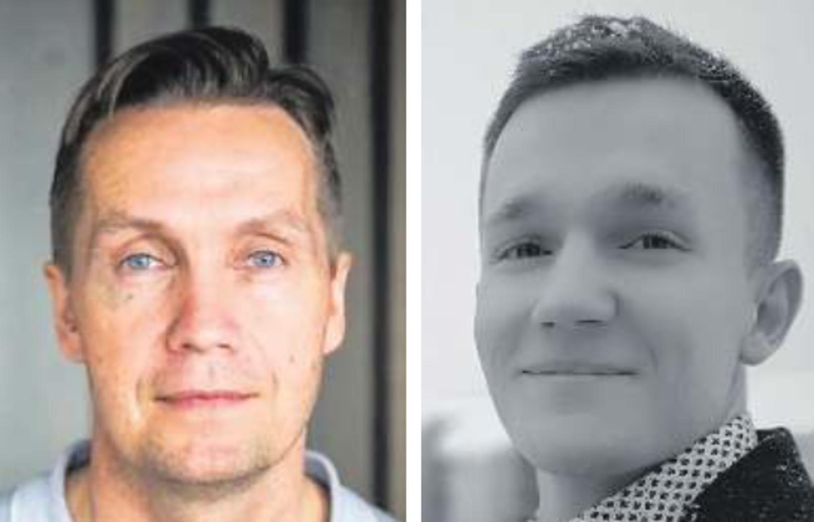 Jón Ívar Einarsson og Erling Óskar Kristjánsson.