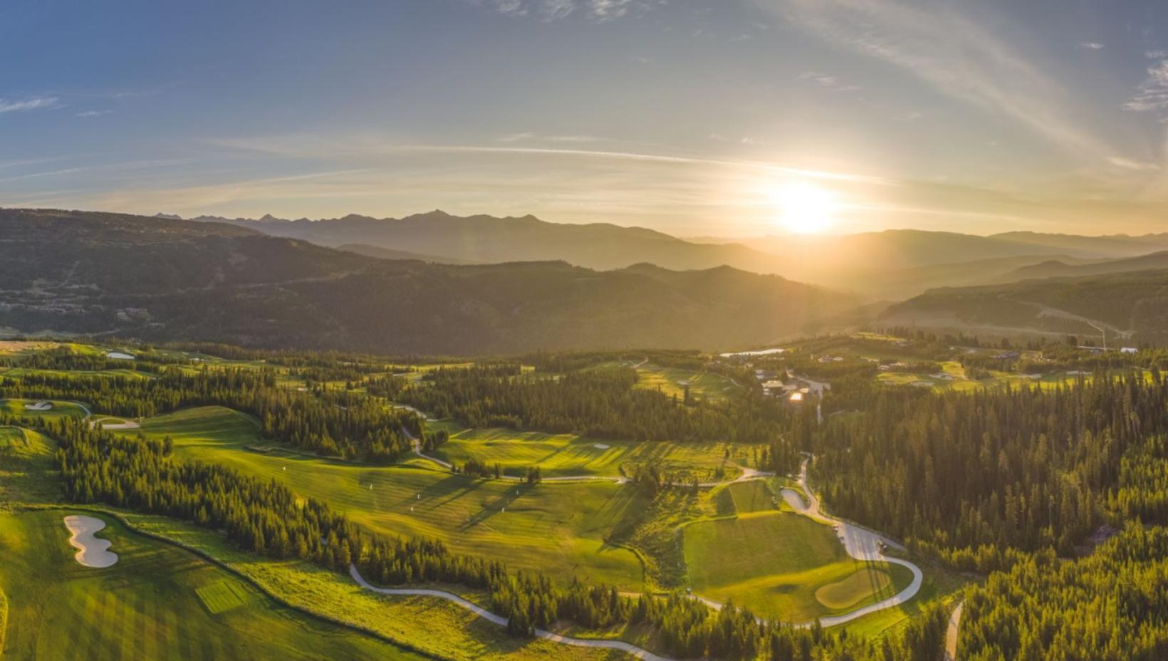 Annar golfvalla Yellowstone Club