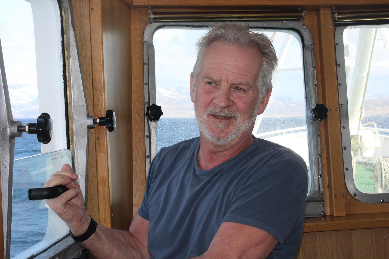 Brynjar Kristmundsson, skipstjóri á Steinunni.