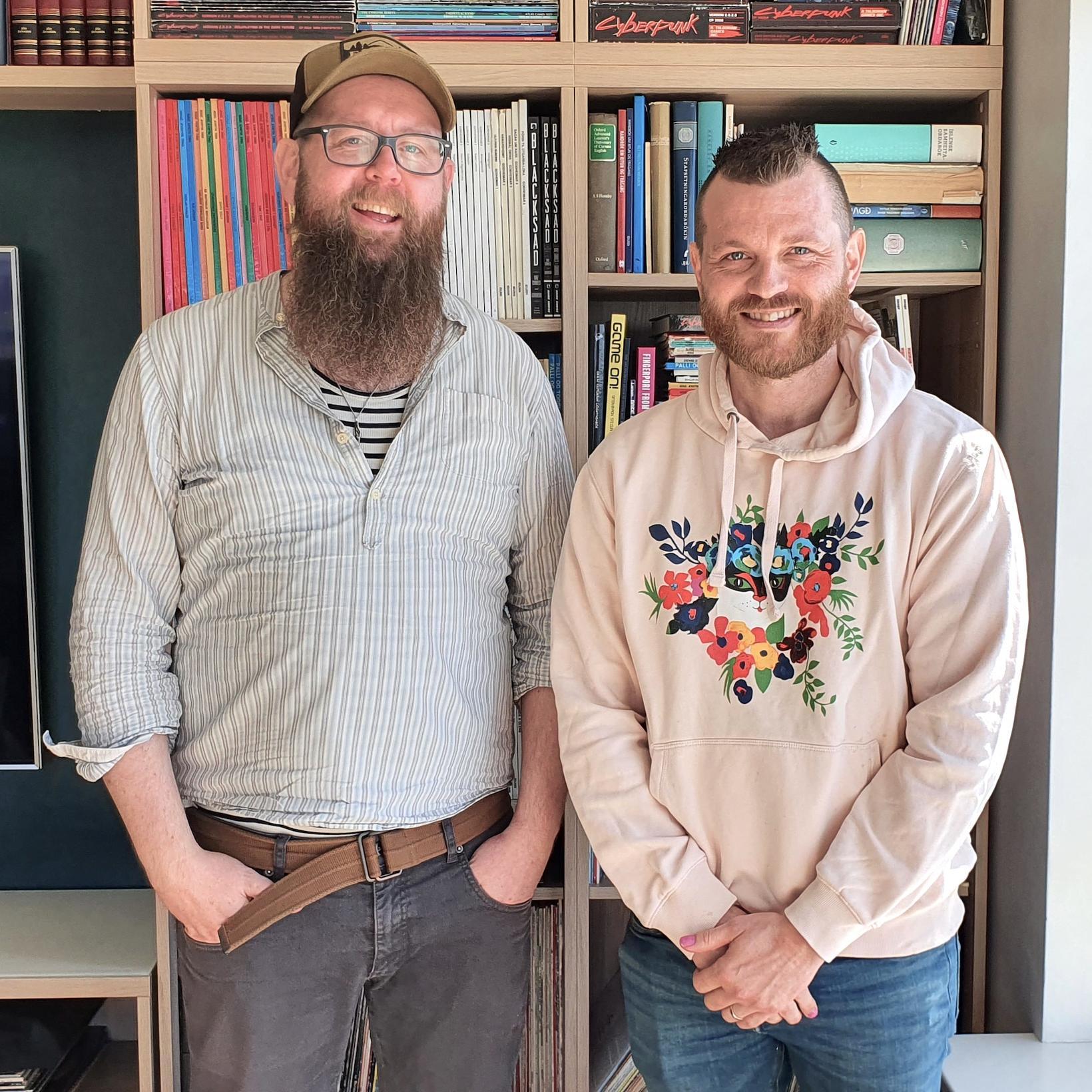 Snæbjörn Ragnarsson og Þorsteinn V. Einarsson.