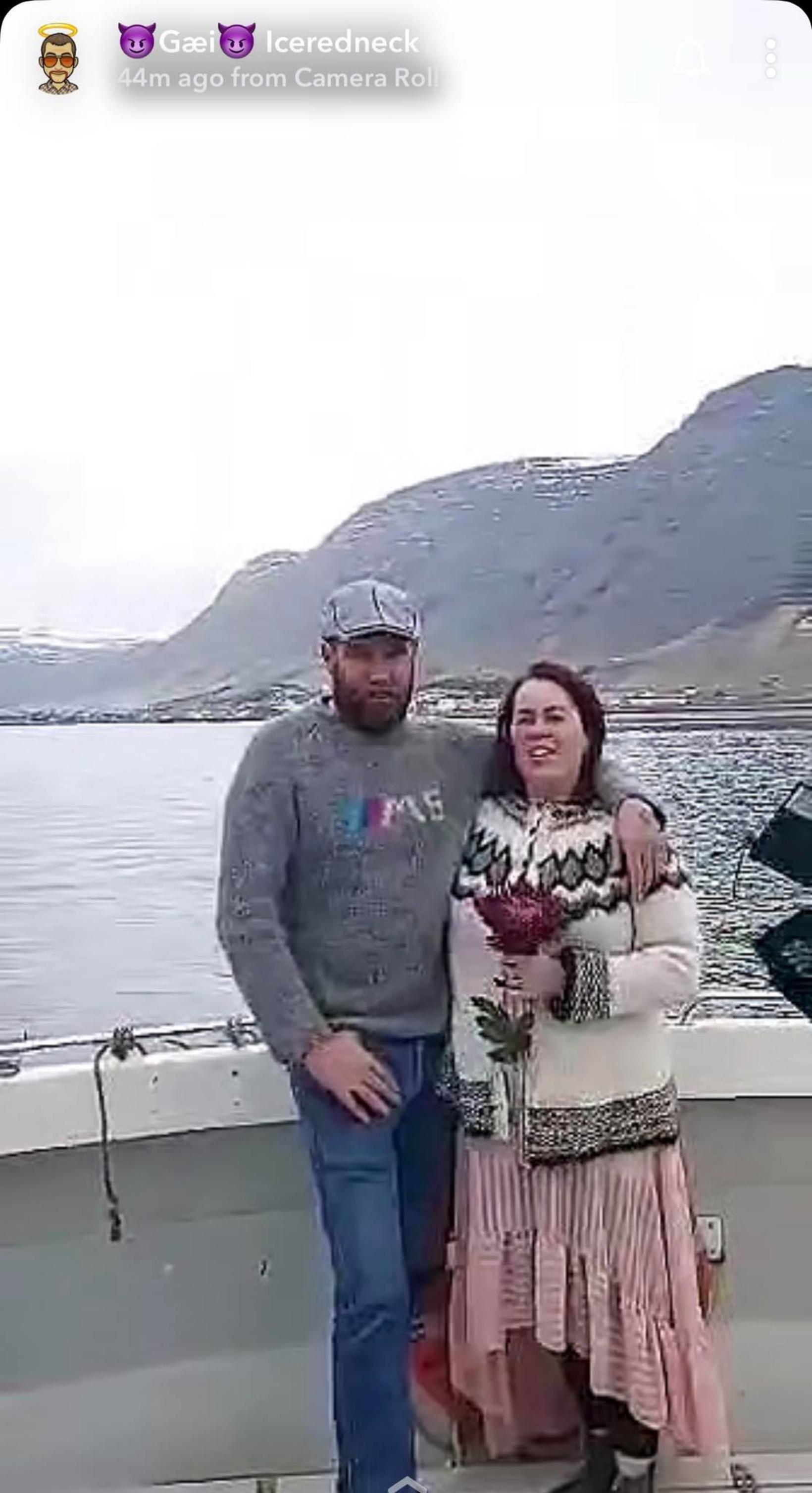 Garðar Viðarsson og Anna Björk Erlingsdóttir.