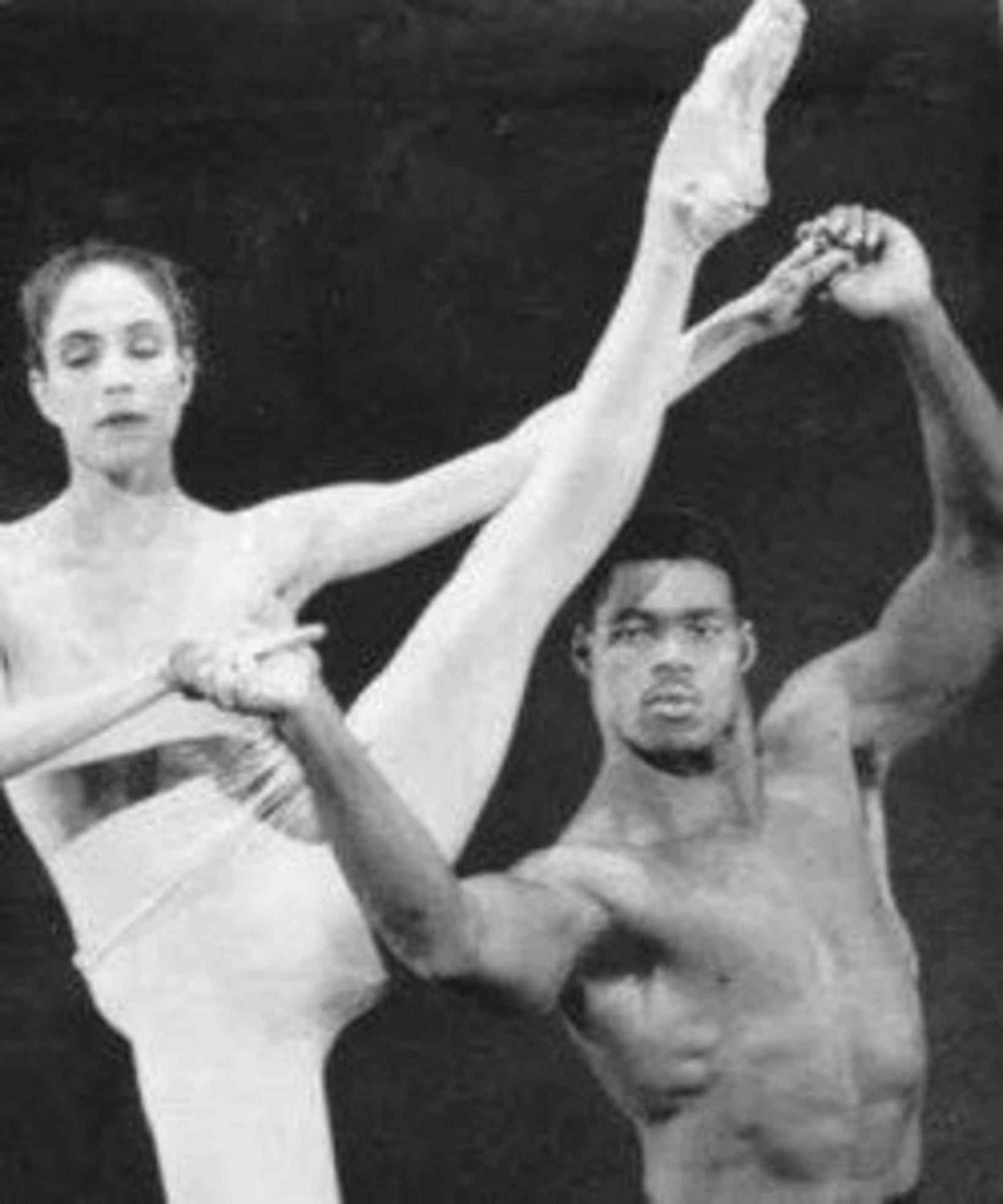 Herschel Walker á sviði með Fort Worth-balletinum.