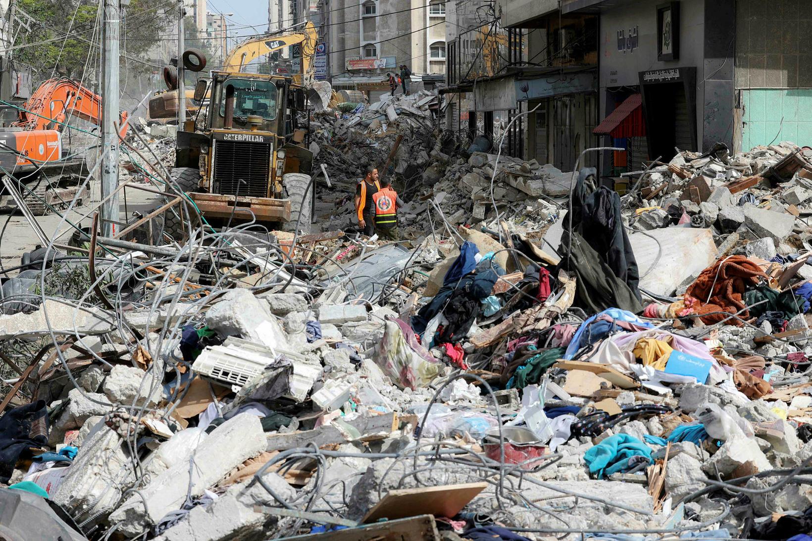 Um 200 Palestínumenn hafa látist síðan á mánudag. Á sama …