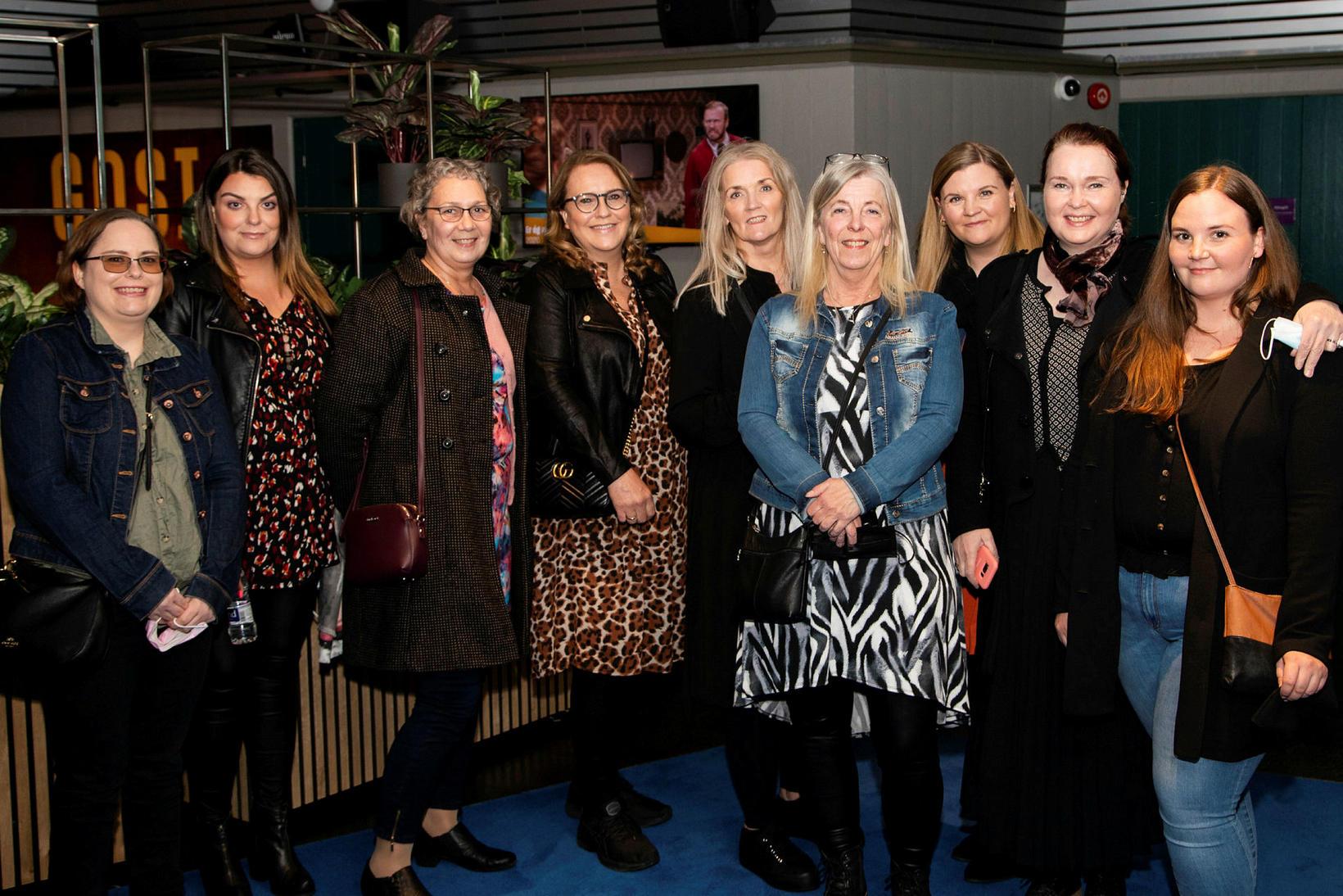 Karlotta Jensdóttir, Edda Rós Örnólfsdóttir, Hulda Margrét Sigtryggsdóttir, Helga Sigurðardóttir. …