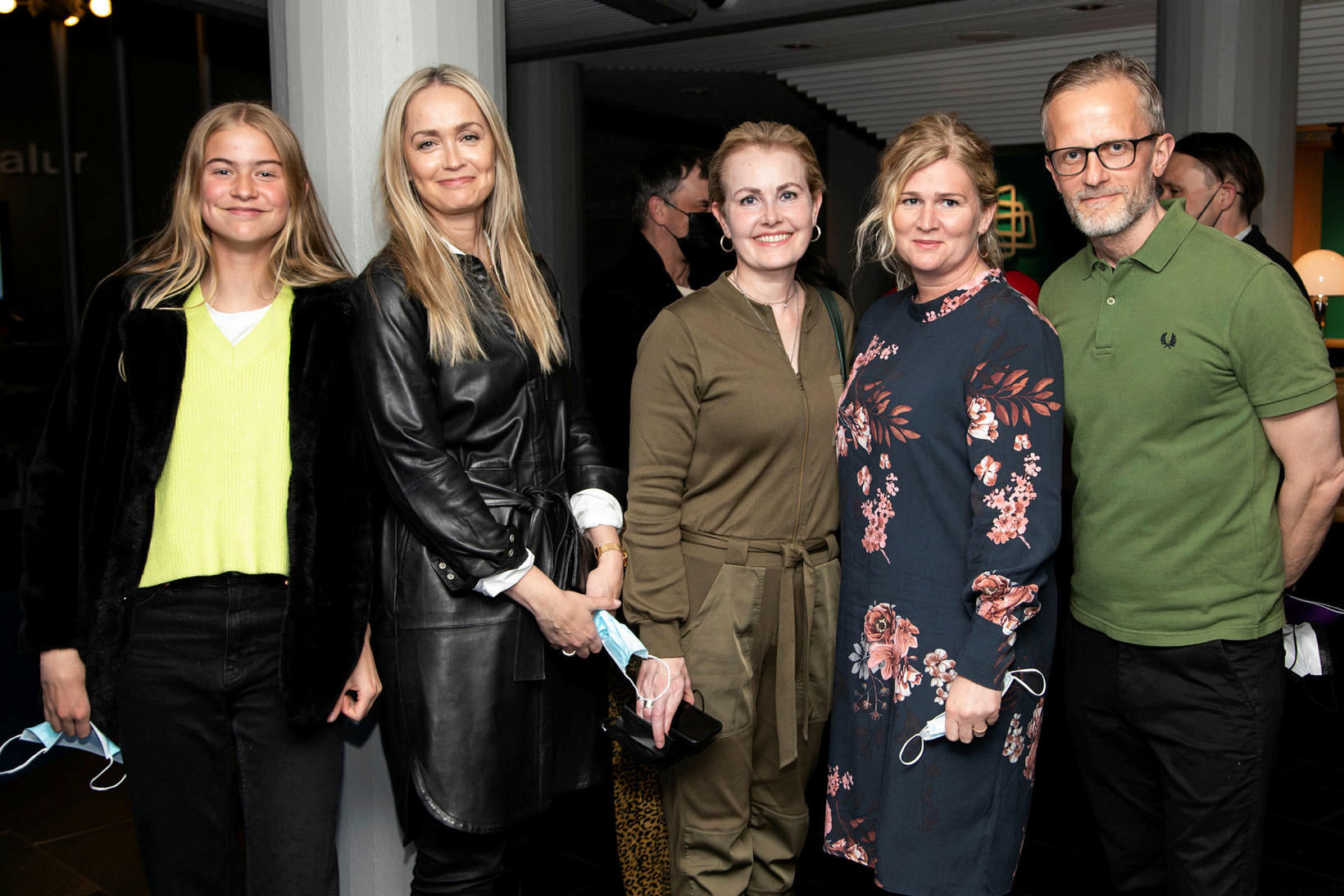 Helena Lapas, Jóna Björk Helgadóttir, Ásdís Magnúsdóttir, Halla Grétarsdóttir og …