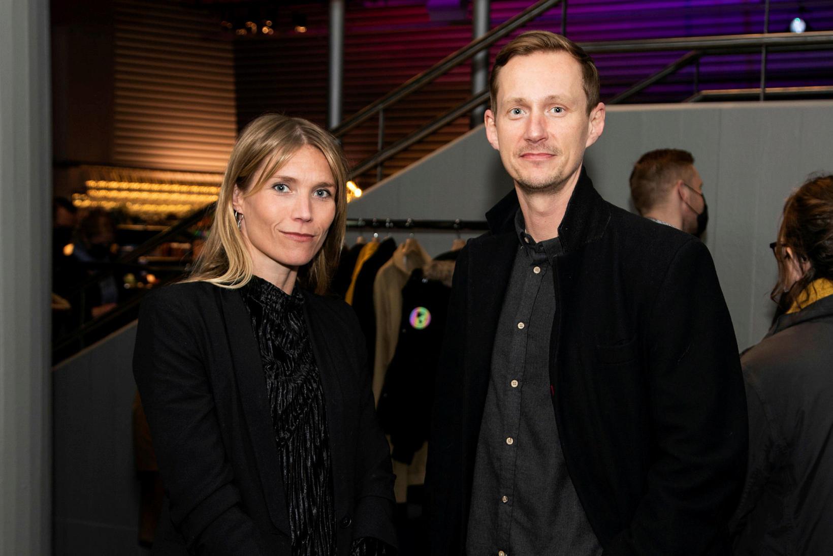 Vera Sölvadóttir og Jörundur Ragnarsson.
