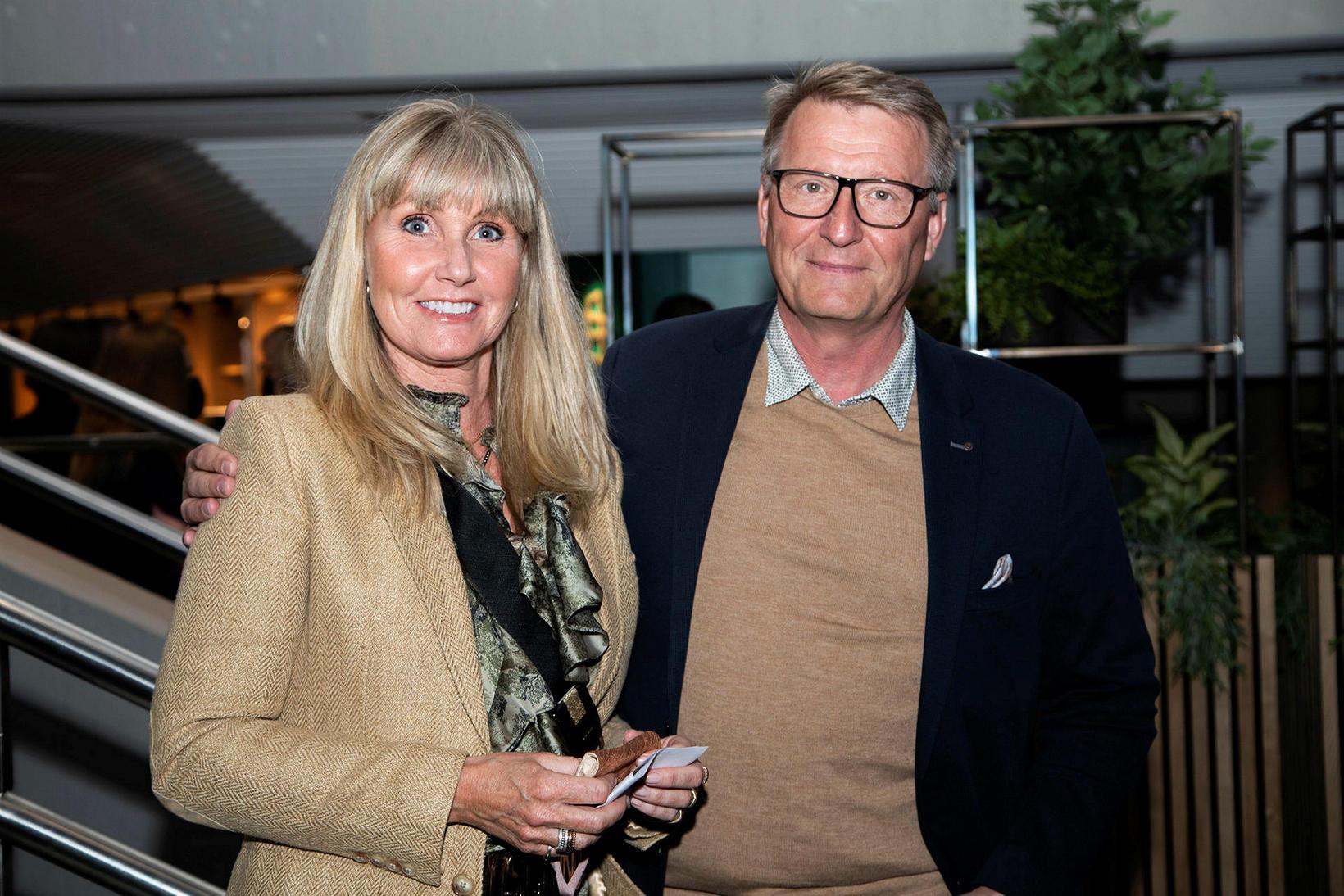 Birna Antonsdóttir og Sveinbjörn Brandsson.