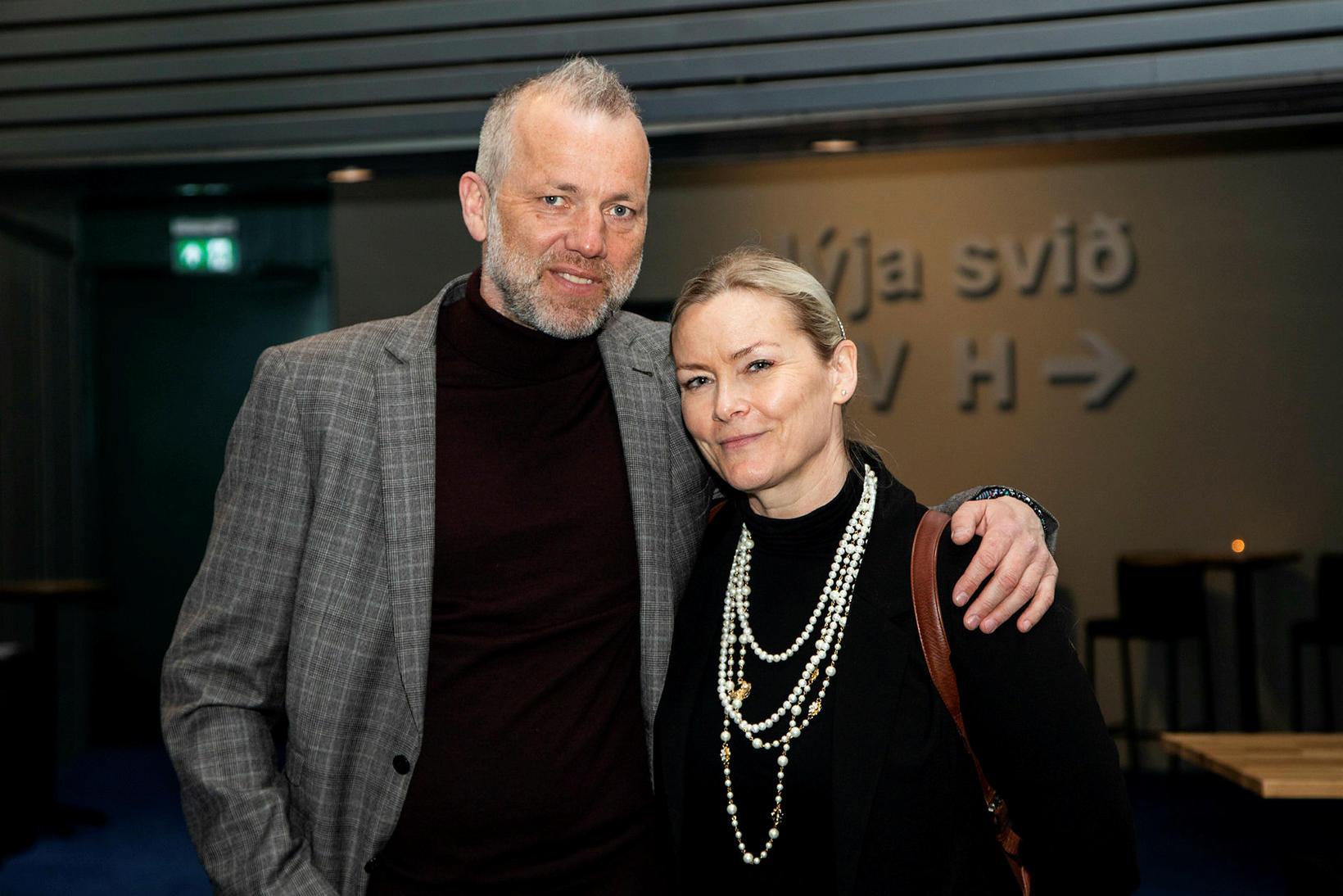 Þorsteinn Guðbjörnsson og Jóhanna Vigdís Arnardóttir.