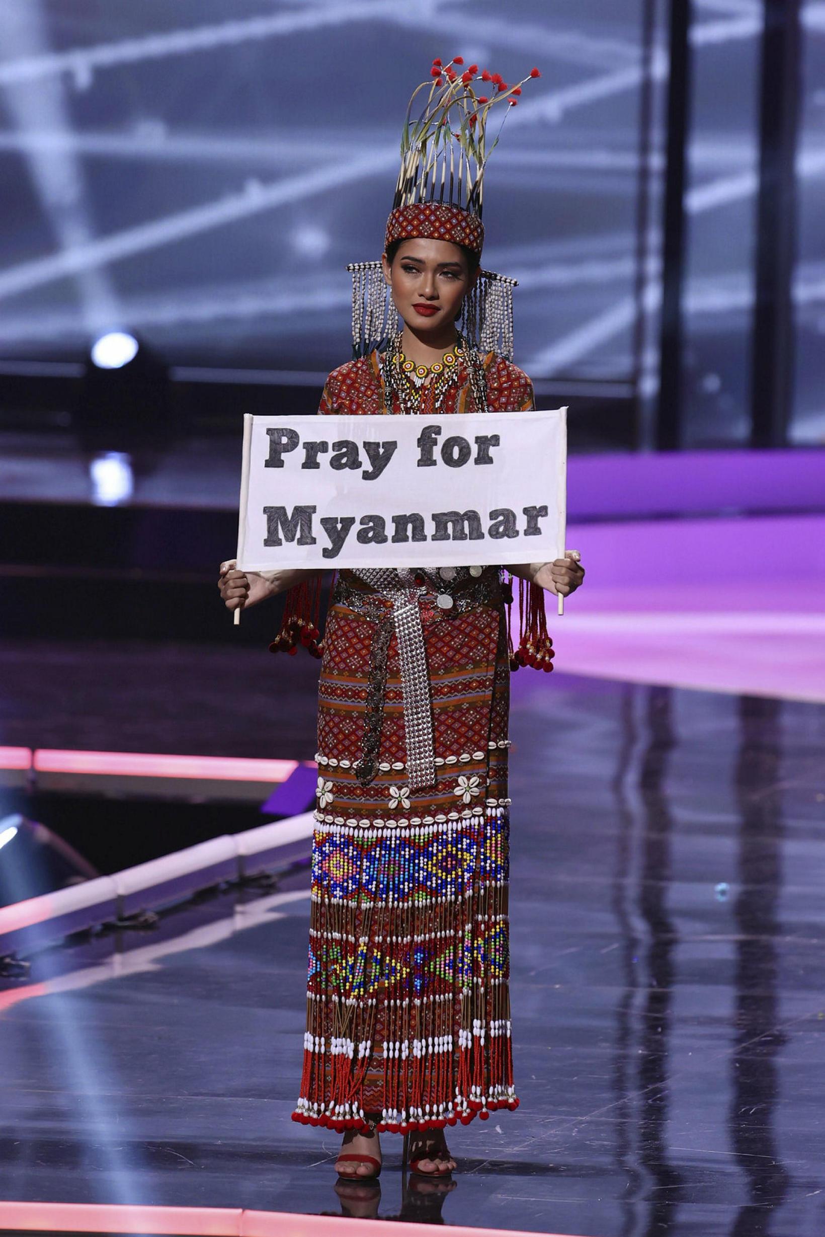 Thuzar Wint Lwin frá Mjanmar var pólitísk.