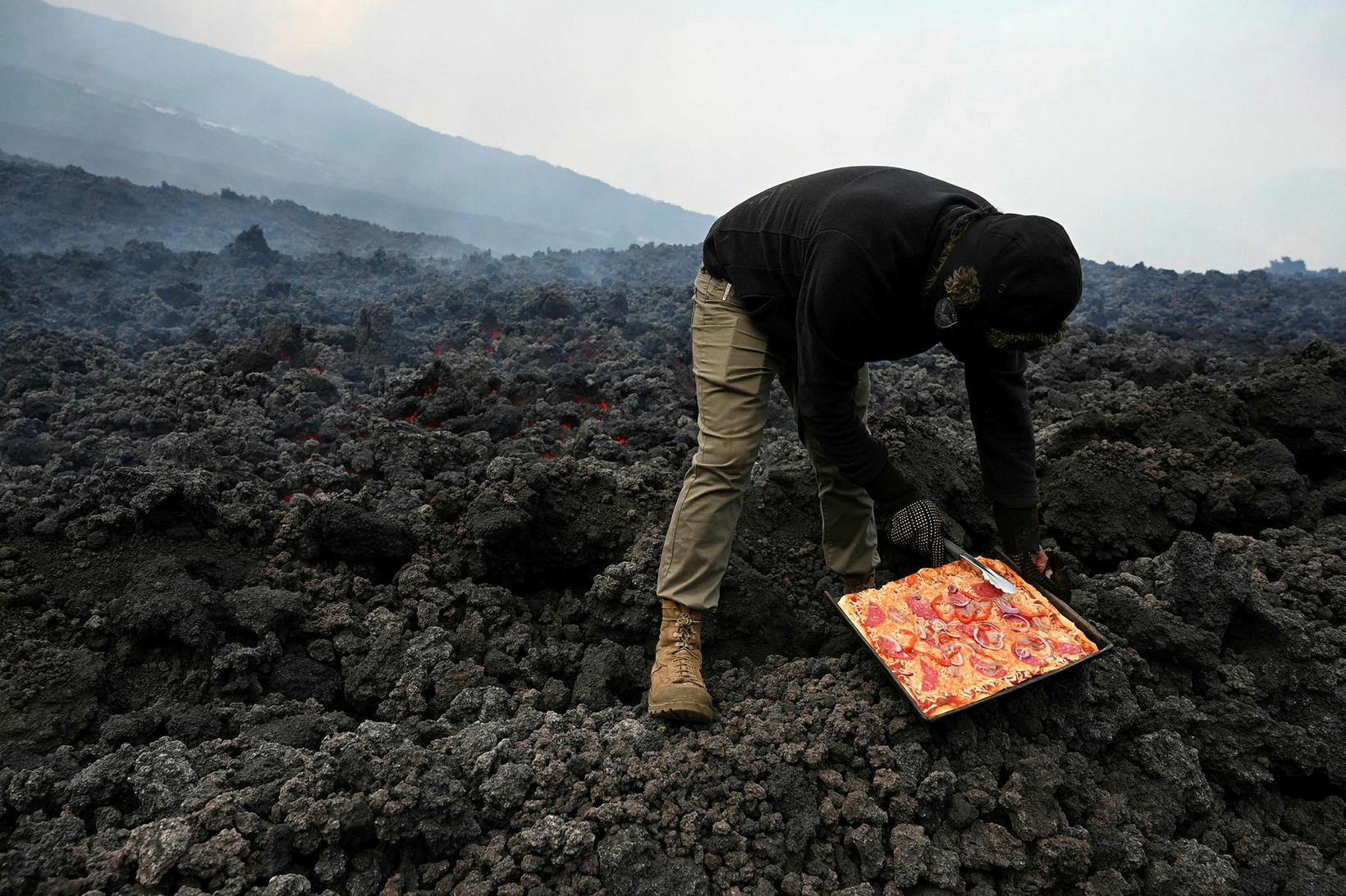 David Garcia rekur heitasta pizzustaðinn í Gvatemala
