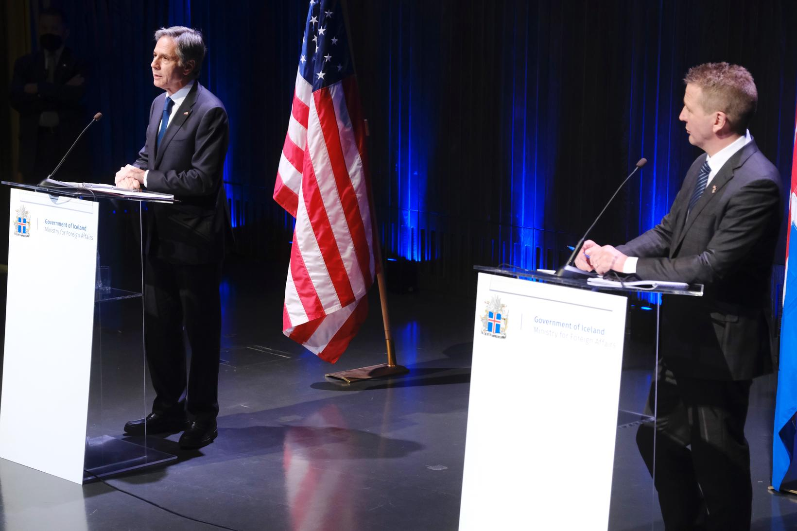 US Secretary of State Antony Blinken and Minister for Foreign …