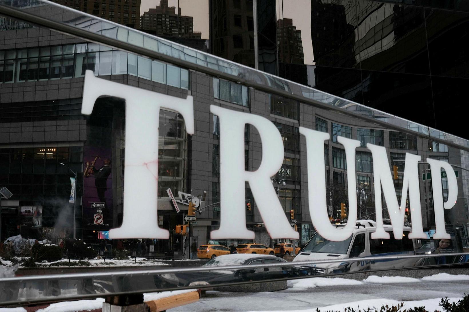Trump International Hotel í New York.