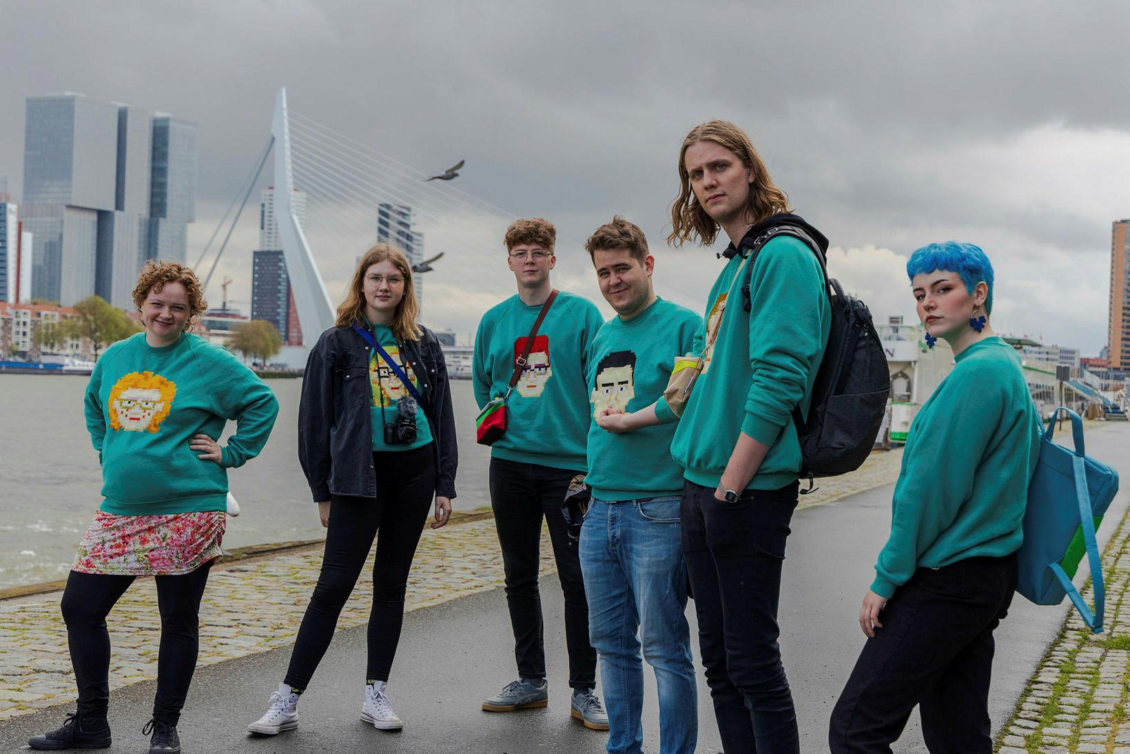Daði og gagnamagnið á góðri stundu í Rotterdam áður en …