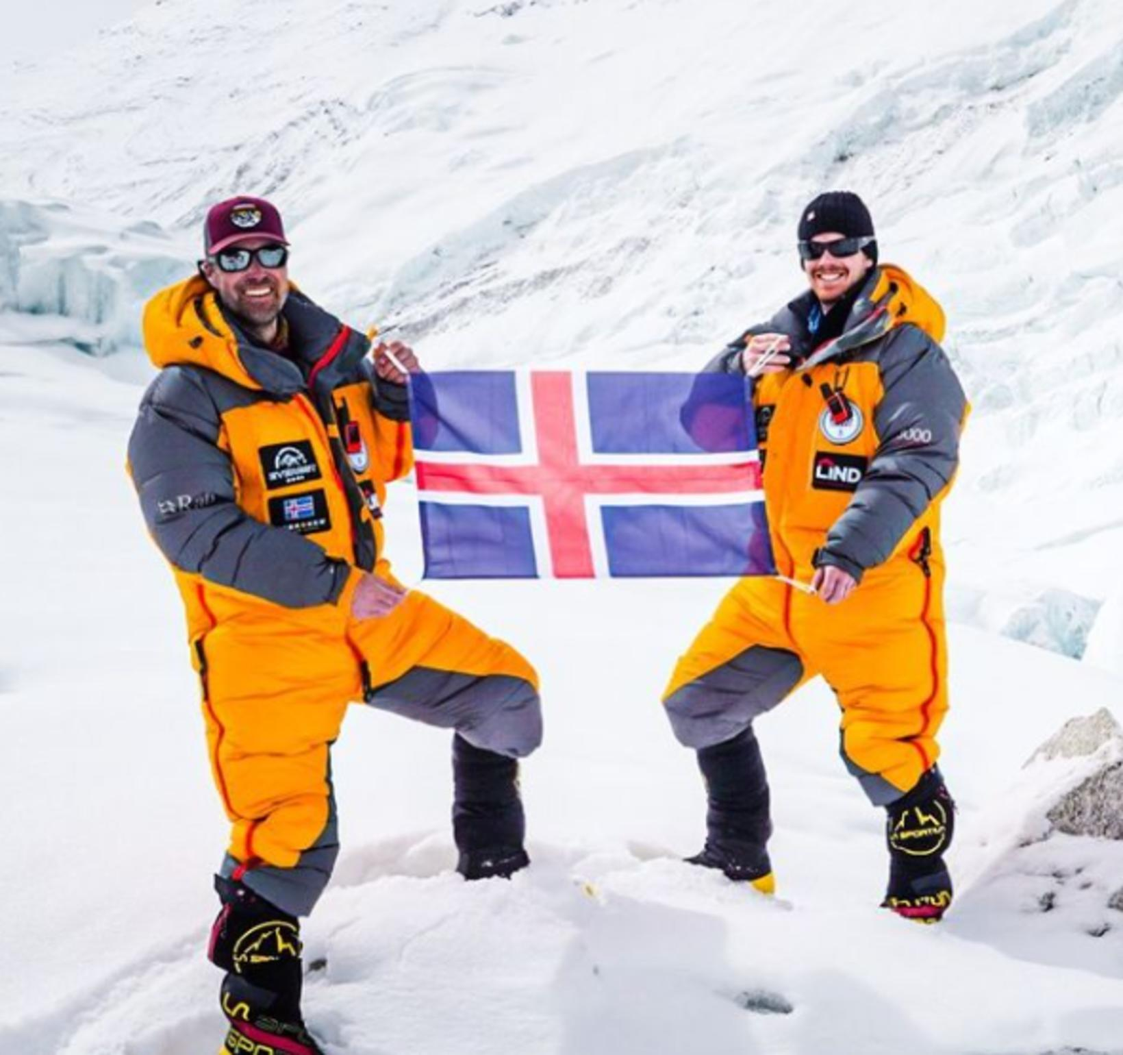 Heimir Fannar Hallgrímsson og Sigurður Bjarni Sveinsson.