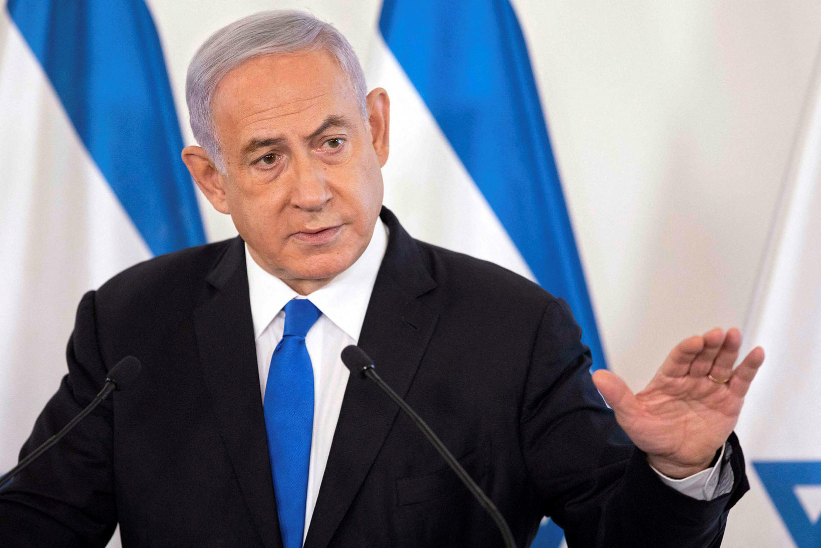 Benjamin Netanjahú.