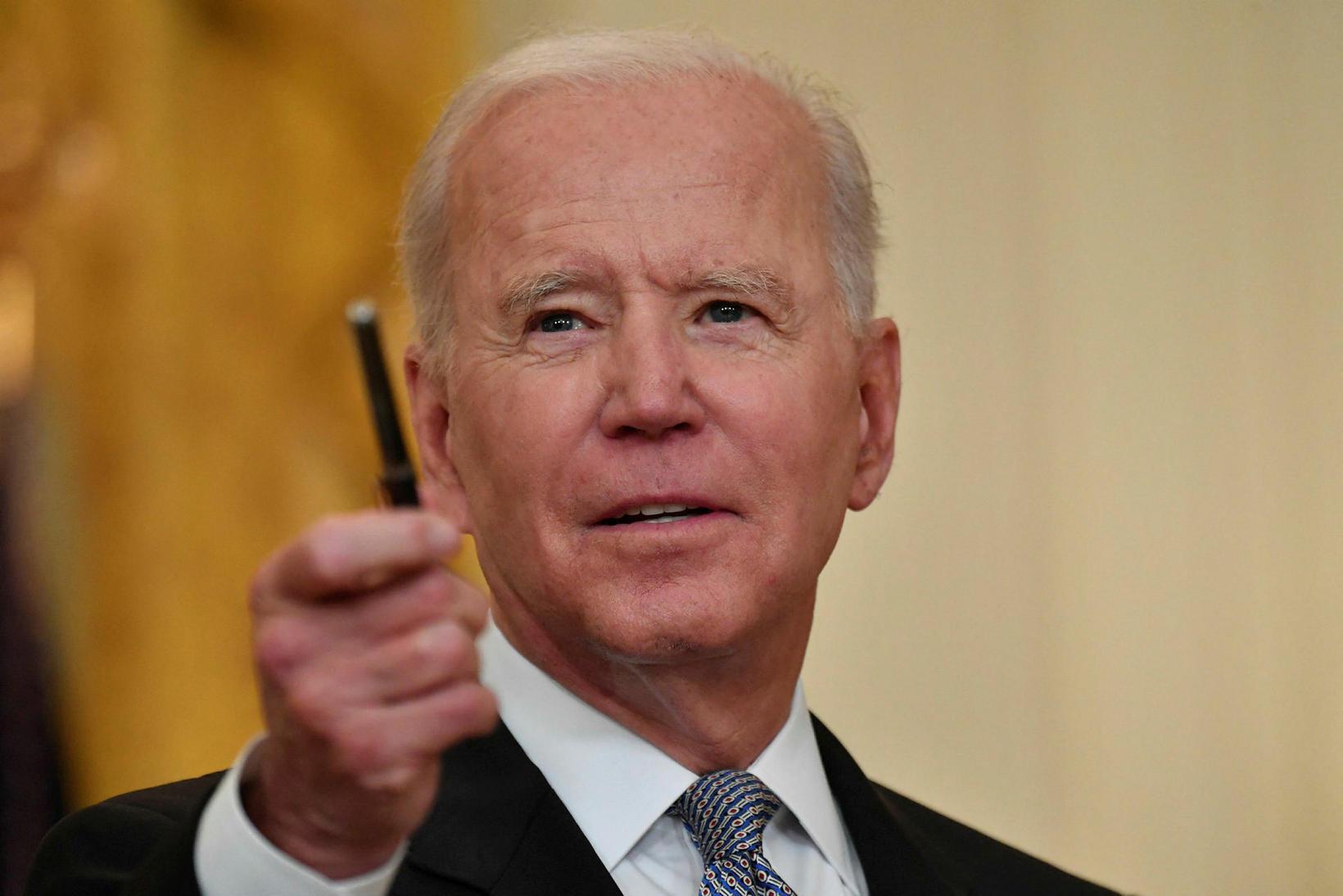 Forseti Bandaríkjanna, Joe Biden, hefur óskað eftir því að fá …