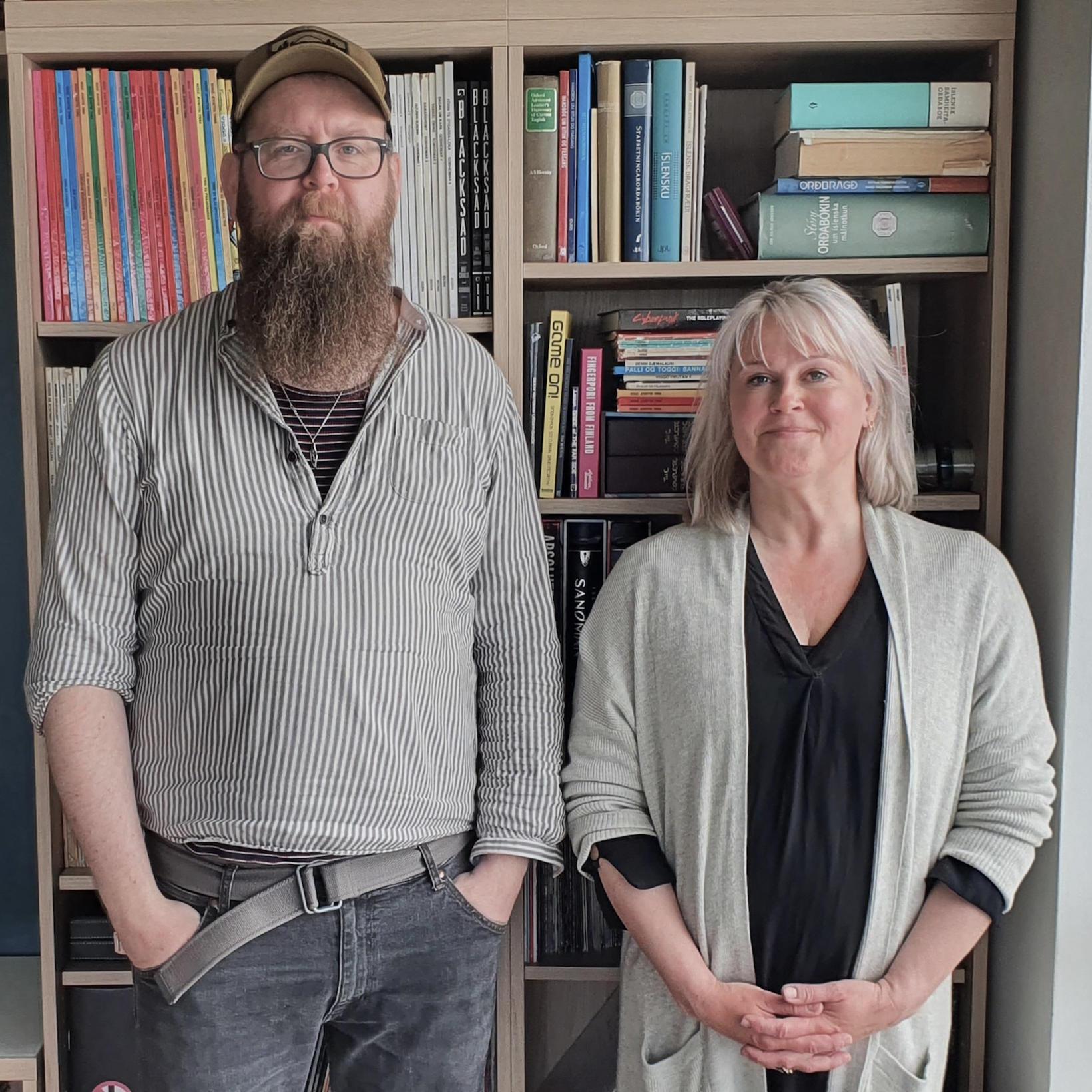 Snæbjörn Ragnarsson og Sigríður Björk Guðjónsdóttir.
