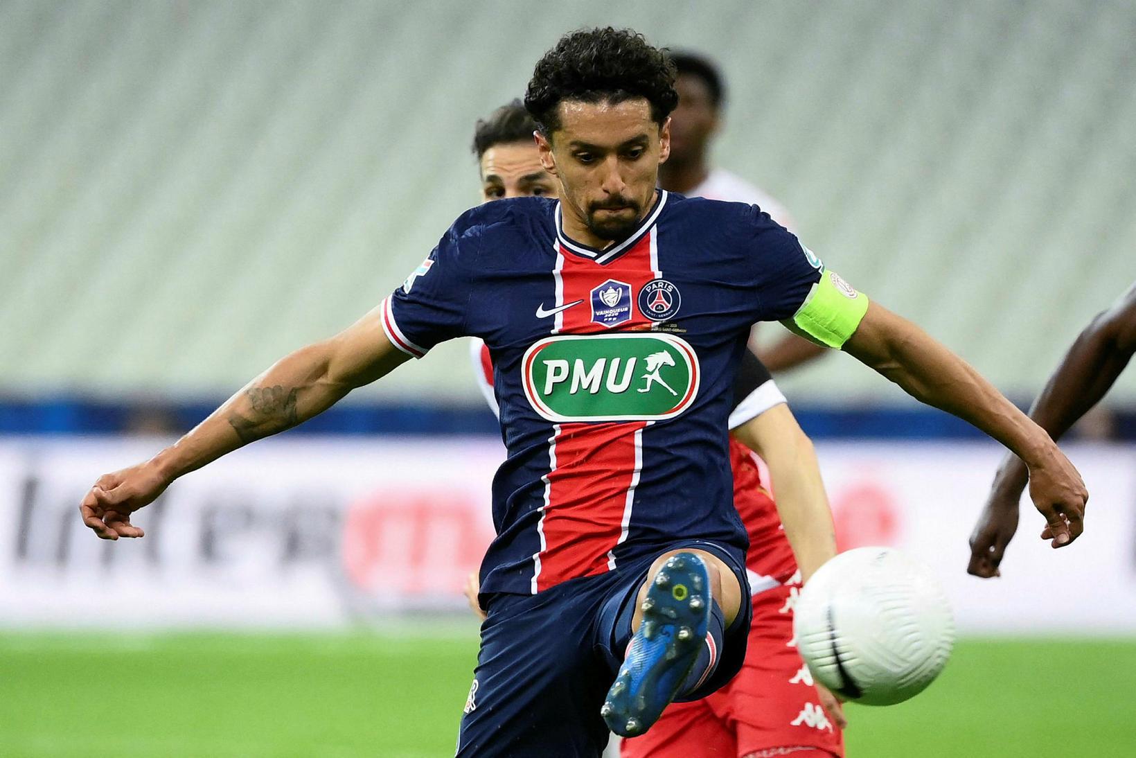 Marquinhos spilar fyrir franska stórliðið PSG.