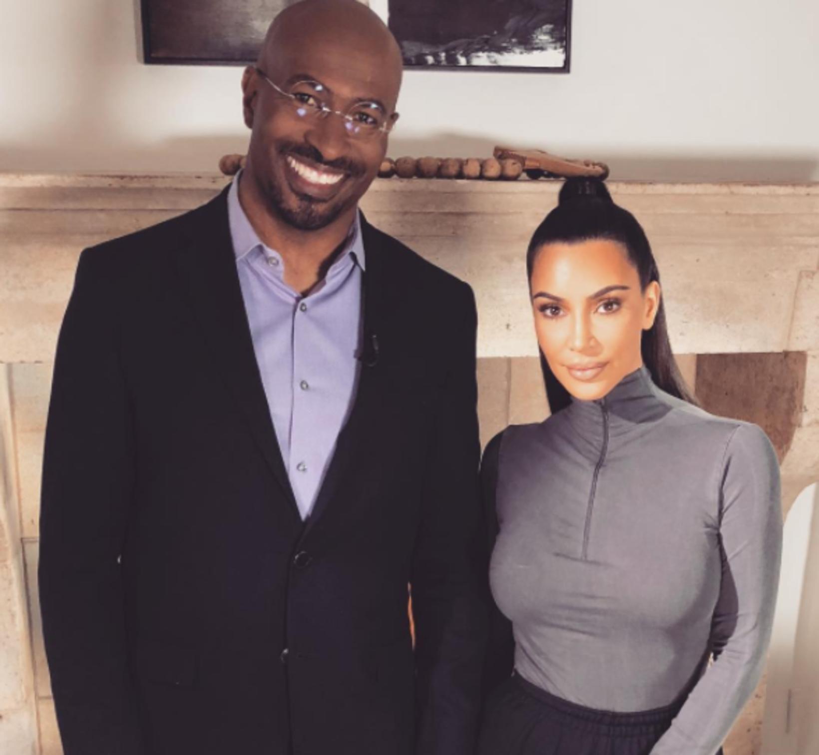 Van Jones og Kim Kardashian hafa unnið saman í nokkur …