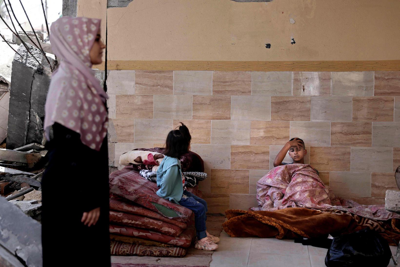 Frá Gaza.