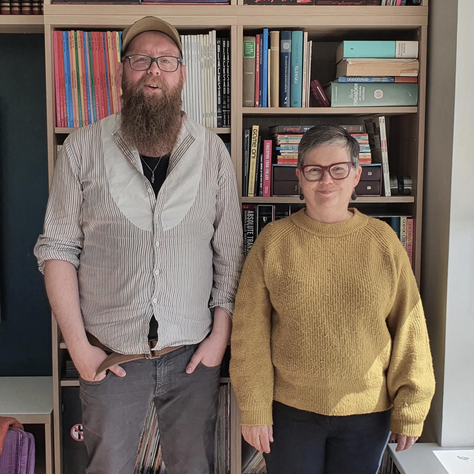 Snæbjörn Ragnarsson og Anna Hildur Hildibrandsdóttir.