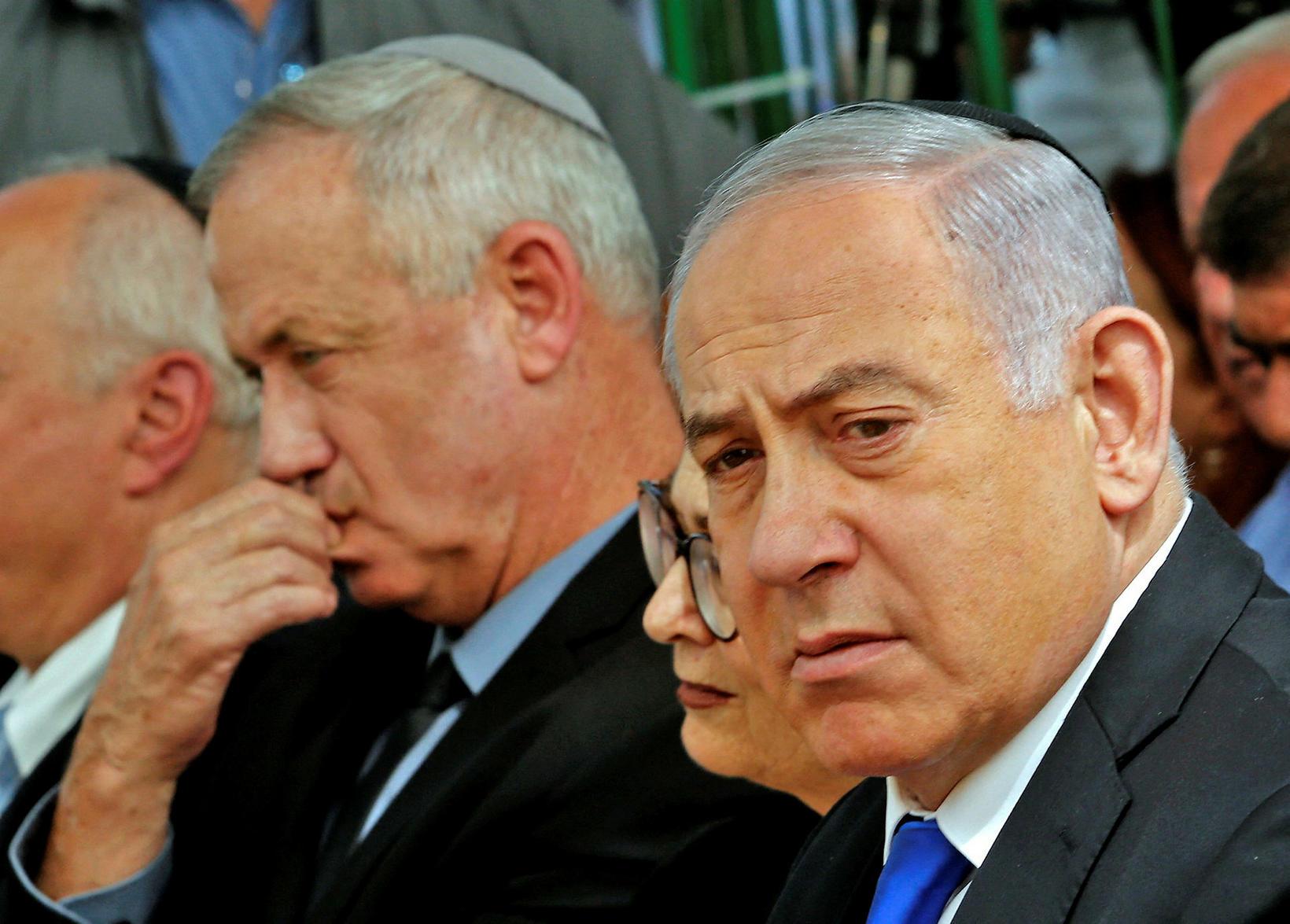 Benjamin Netanyahu, fráfarandi forsætisráðherra Ísrael. Hann hefur setið í stólnum …