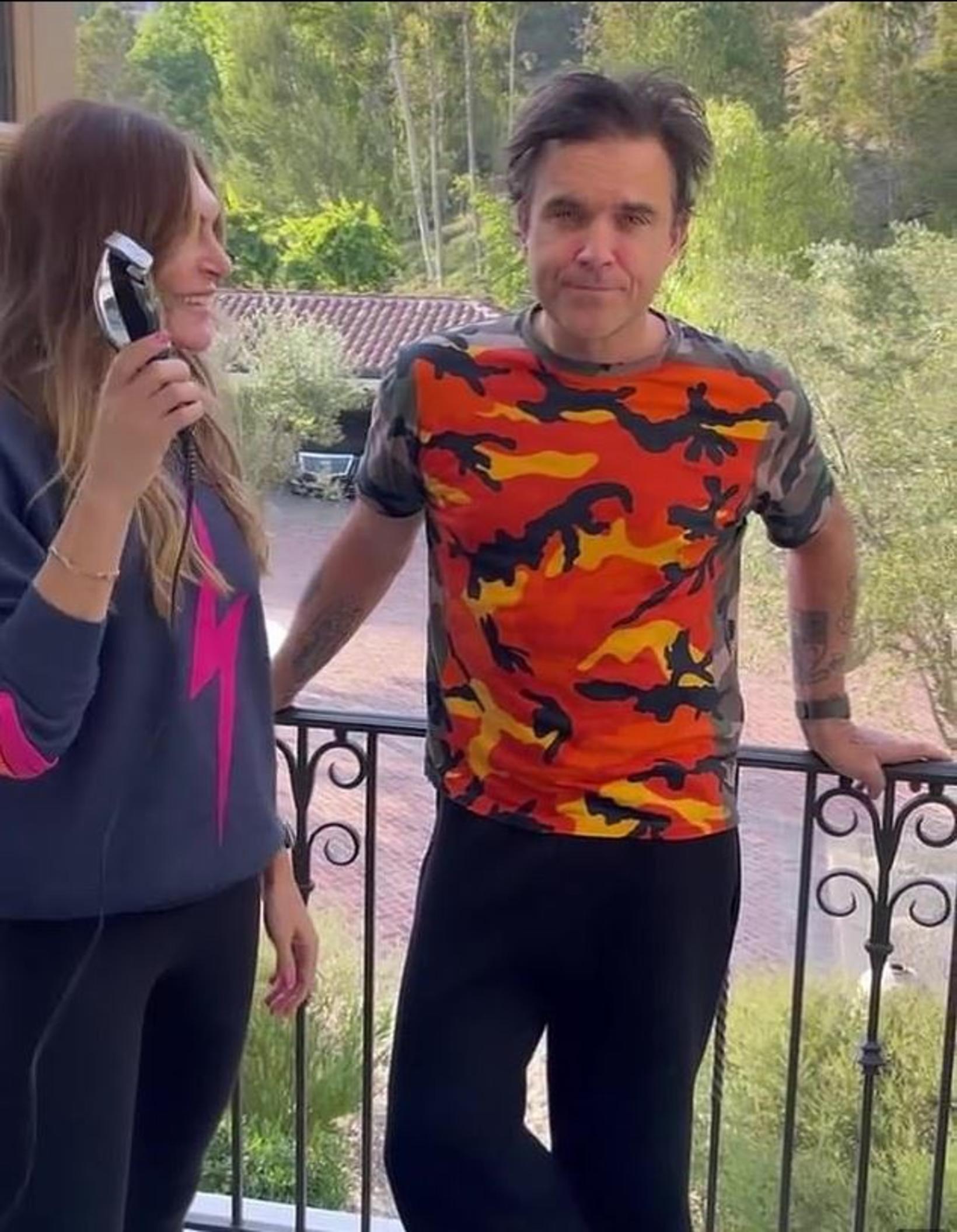 Robbie Williams er ekki alveg viss með þessa ákvörðun