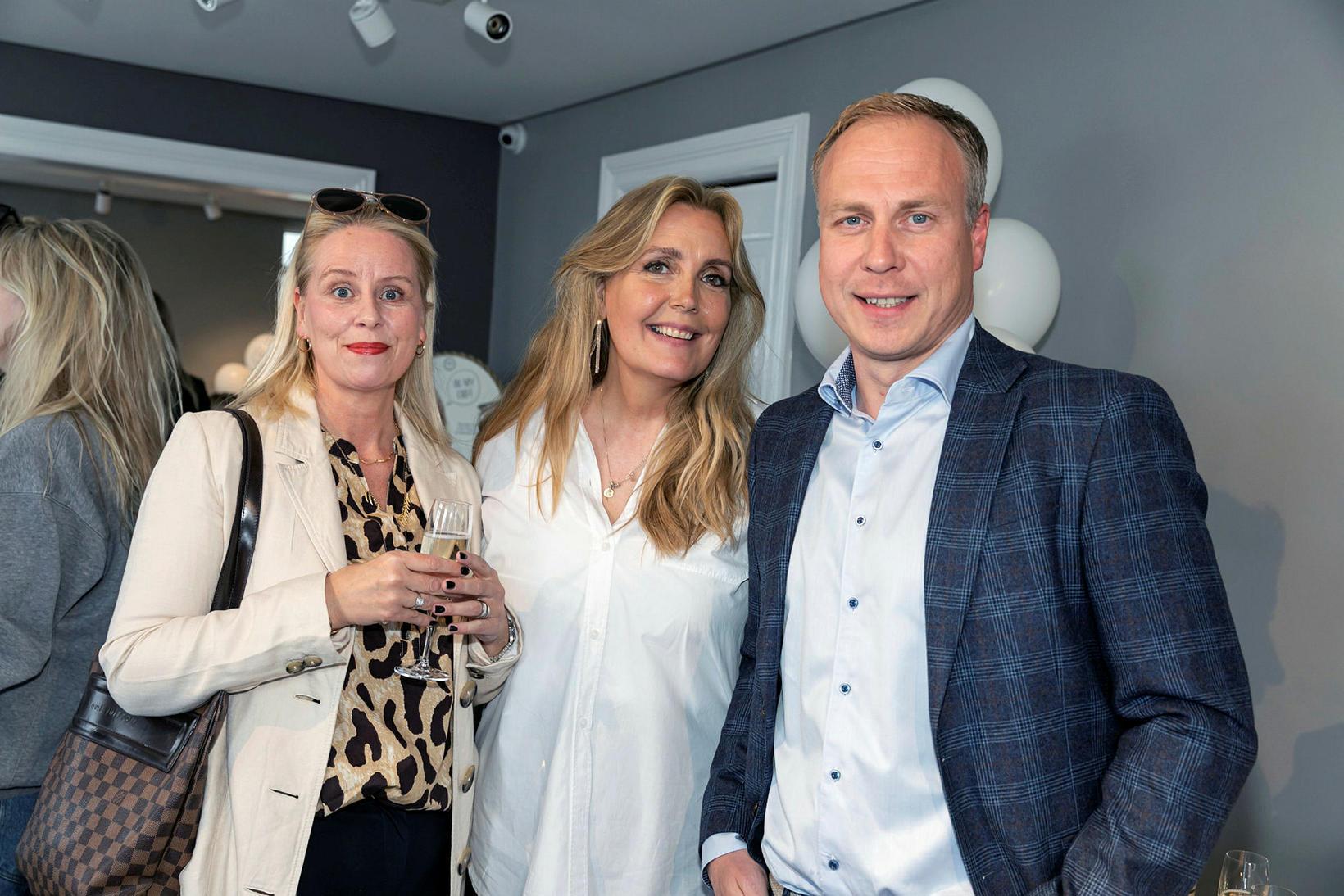 Sigrún Rós Elmers, Kristín Ýr Pétursdóttir og Guðbjarni Eggertsson.