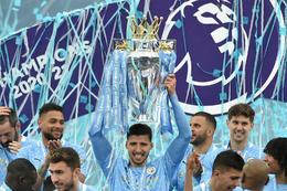 Manchester City hampaði enska meistaratitlinum á síðustu leiktíð.