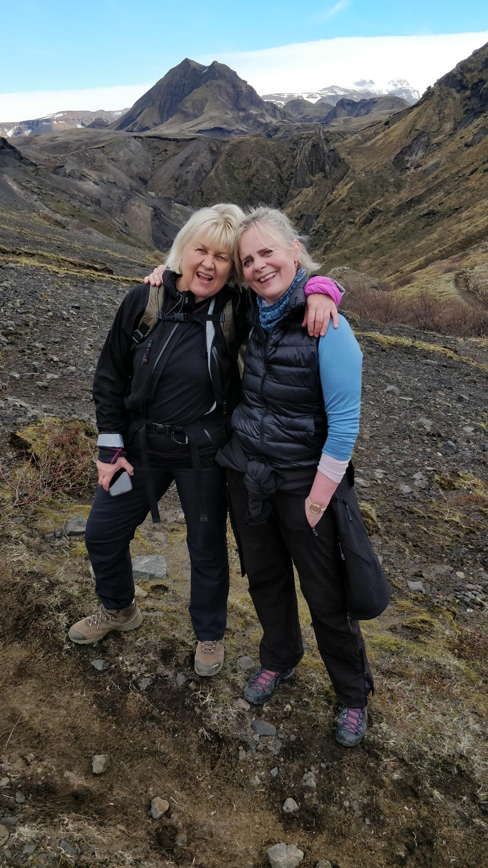 Sirrí Thorsteinsson og Guðrún Birna Eiríksdóttir.