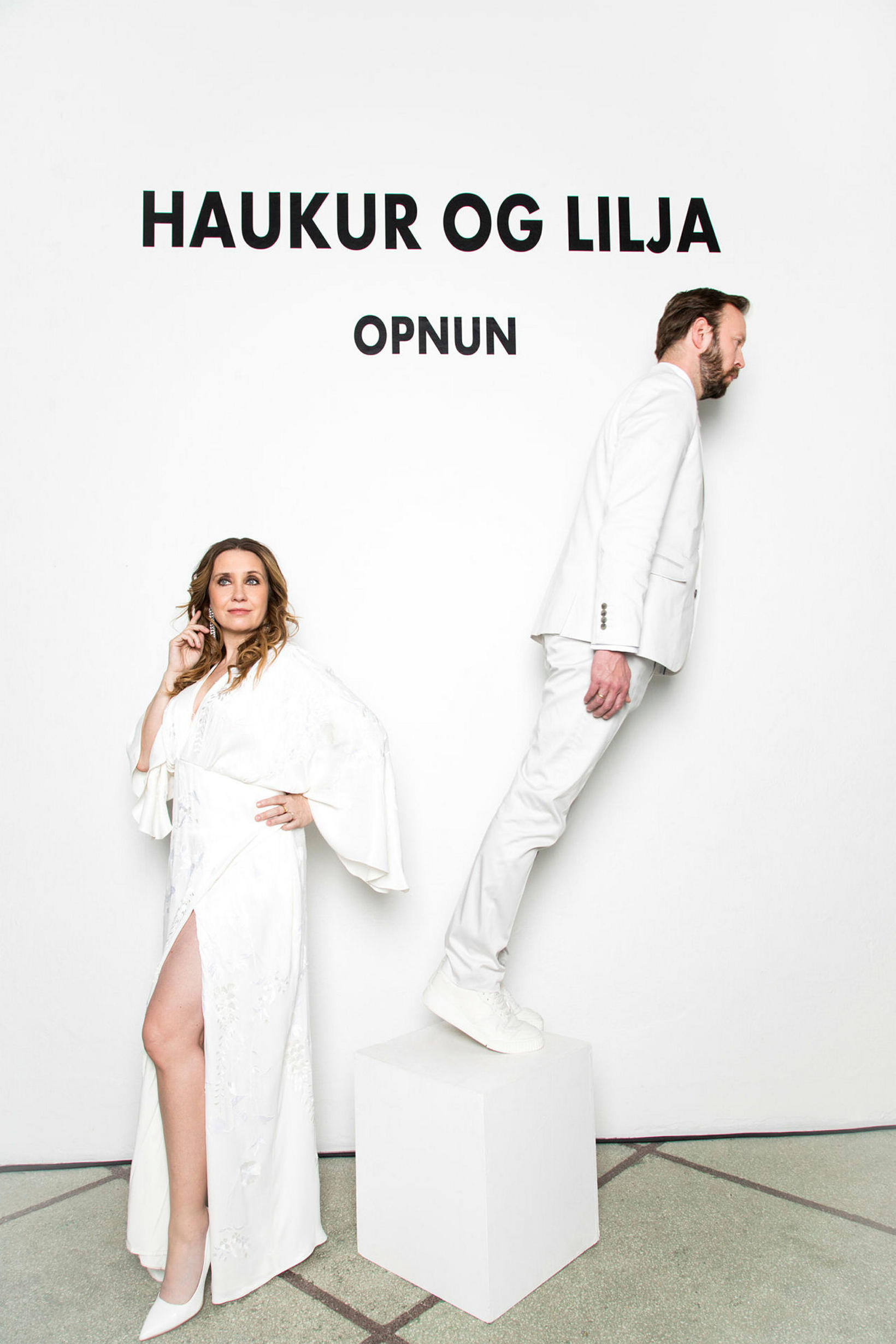 Haukur og Lilja - Opnun hlýtur sex tilnefningar til Grímunnar.