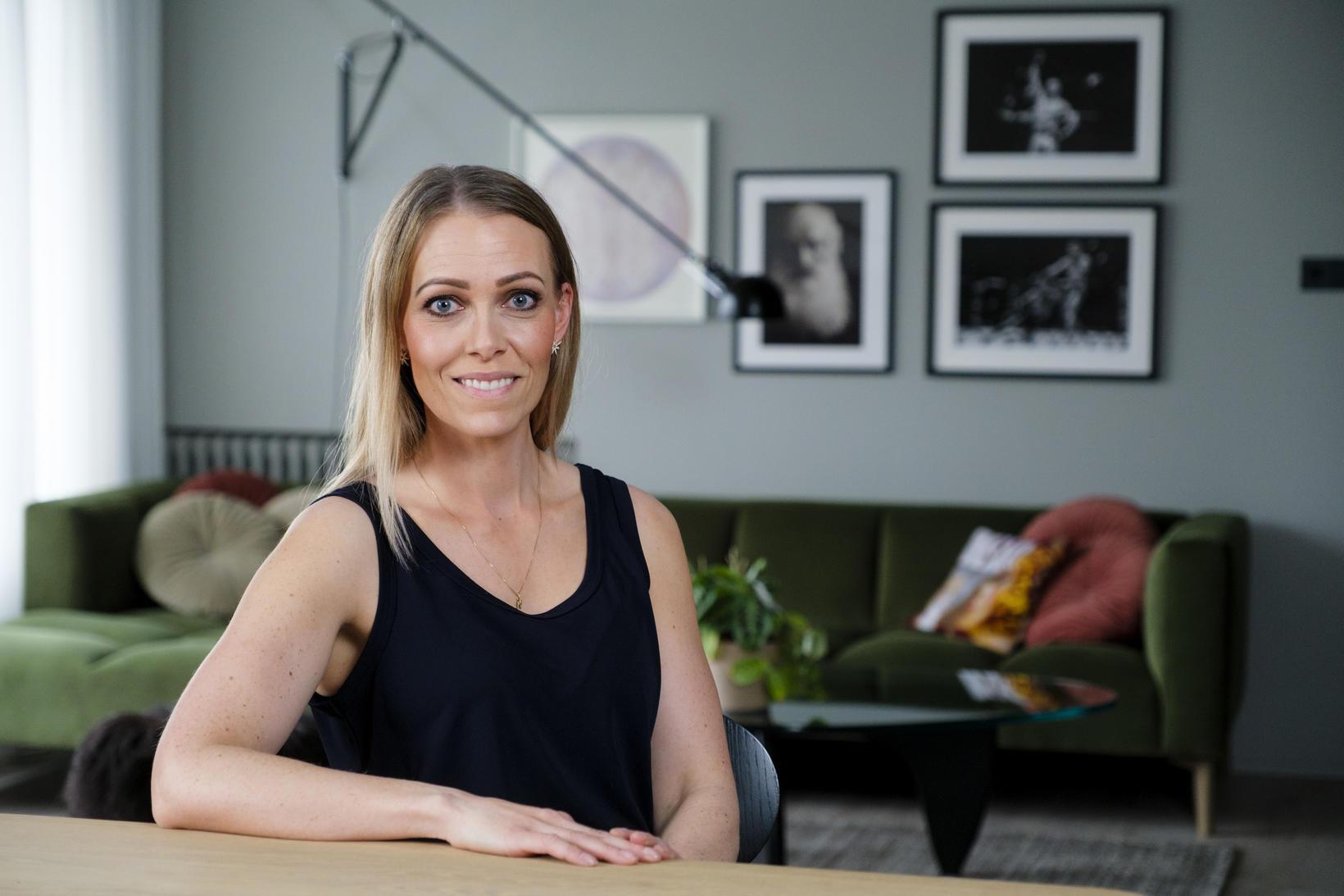 Helga Margrét hugar að heilsunni og hollu matarræði.