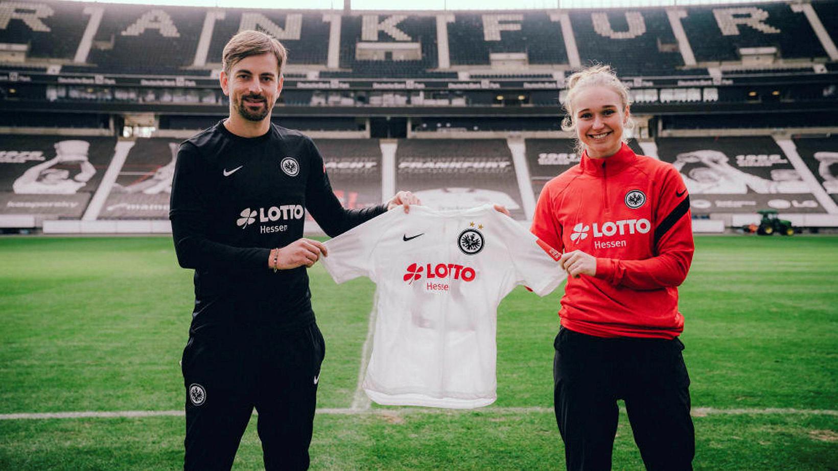 Alexandra Jóhannsdóttir gekk til liðs við Eintracht Frankfurt í janúar.