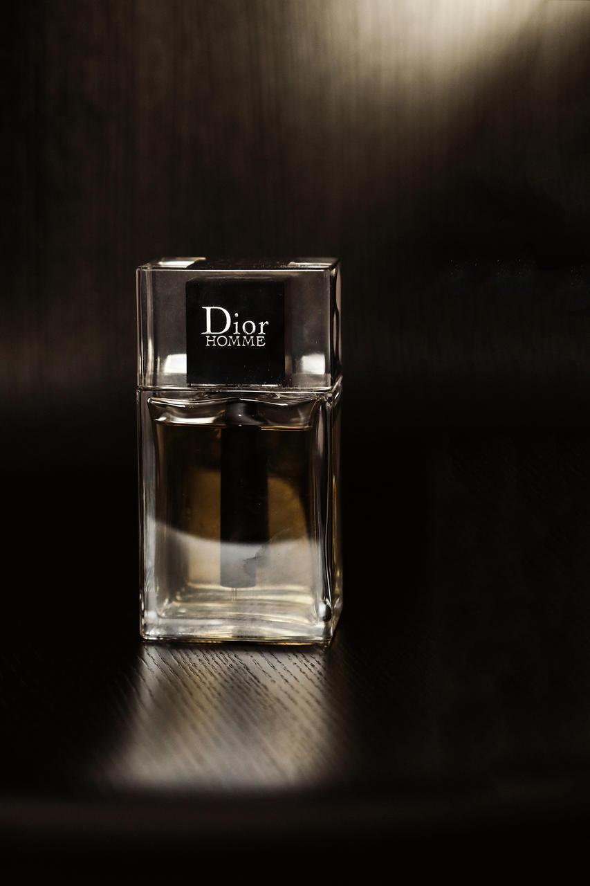 Homme frá Dior er ilmur sem Helgi notar daglega.